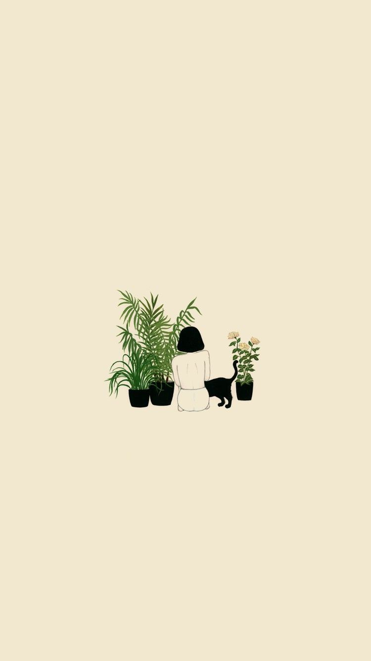 aesthetic plant wallpapers on wallpaperdog