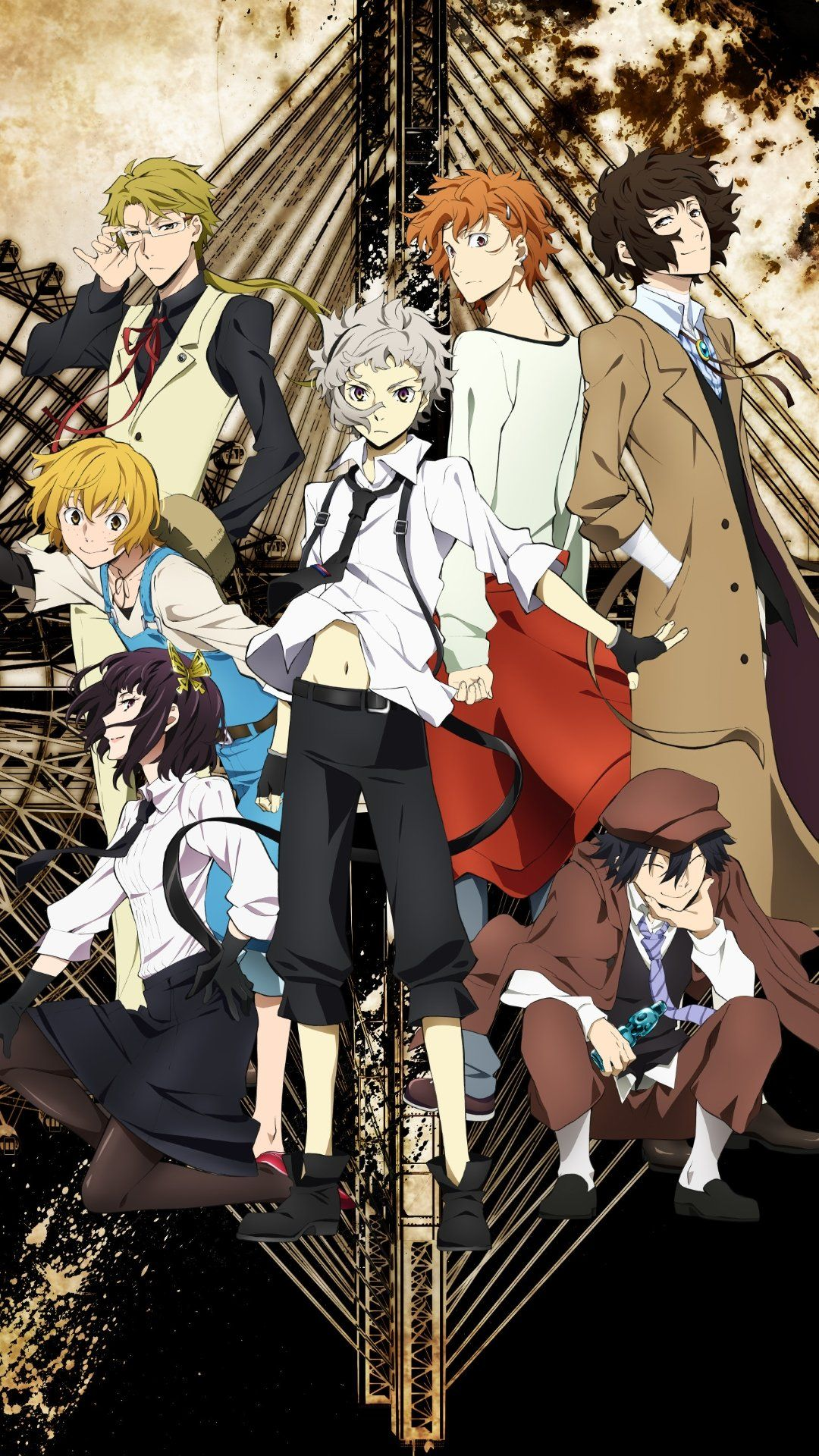 Bungo Stray Dogs Phone Wallpapers On Wallpaperdog