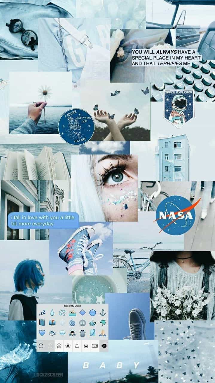 Light Blue Aesthetics Collage Wallpapers On Wallpaperdog Light blue aesthetic blue aesthetic pastel rainbow aesthetic aesthetic colors aesthetic pictures photo wall collage picture wall blue pictures blue wallpapers. blue aesthetics collage wallpapers