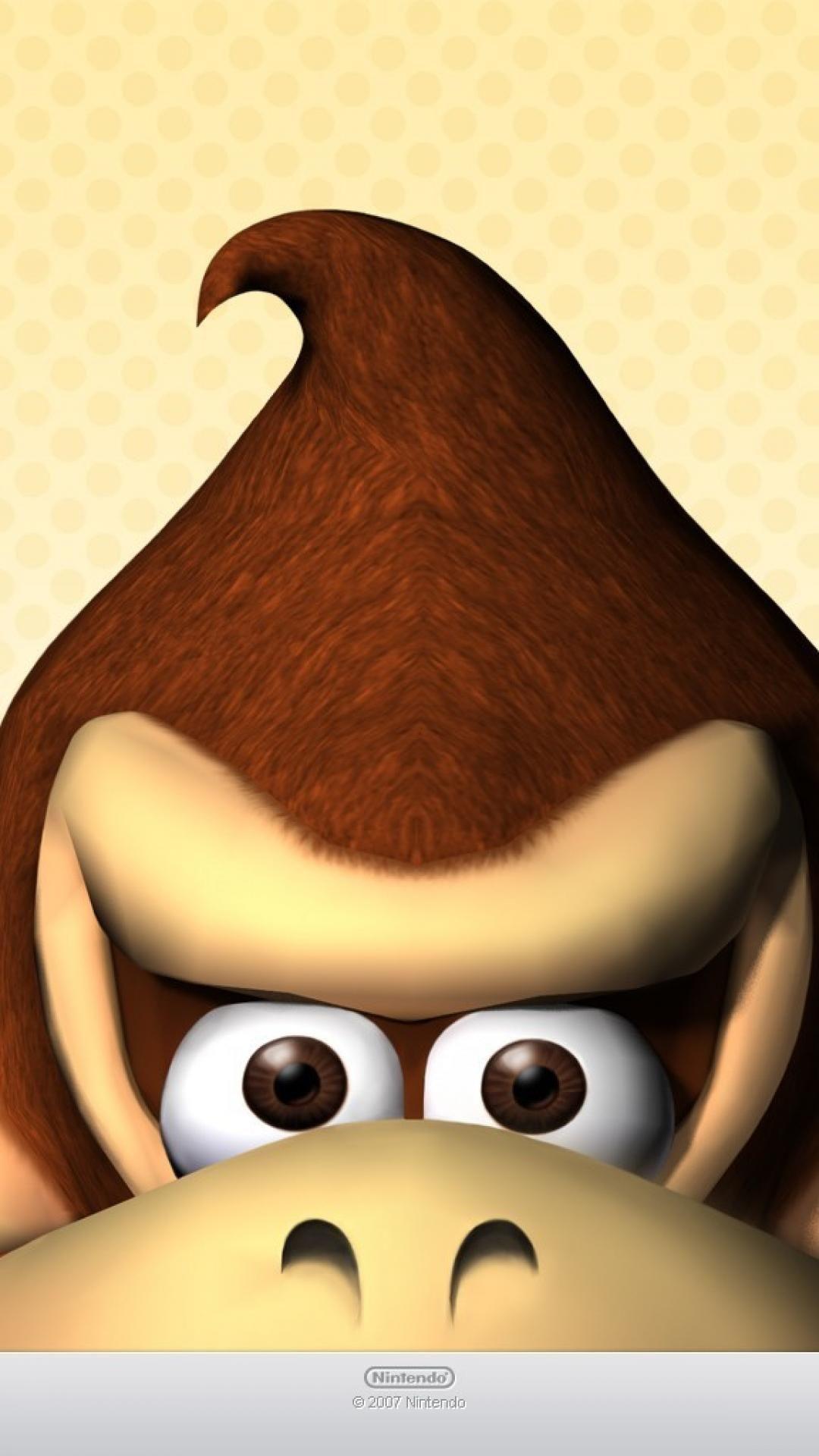 Donkey Kong Iphone Wallpapers On Wallpaperdog