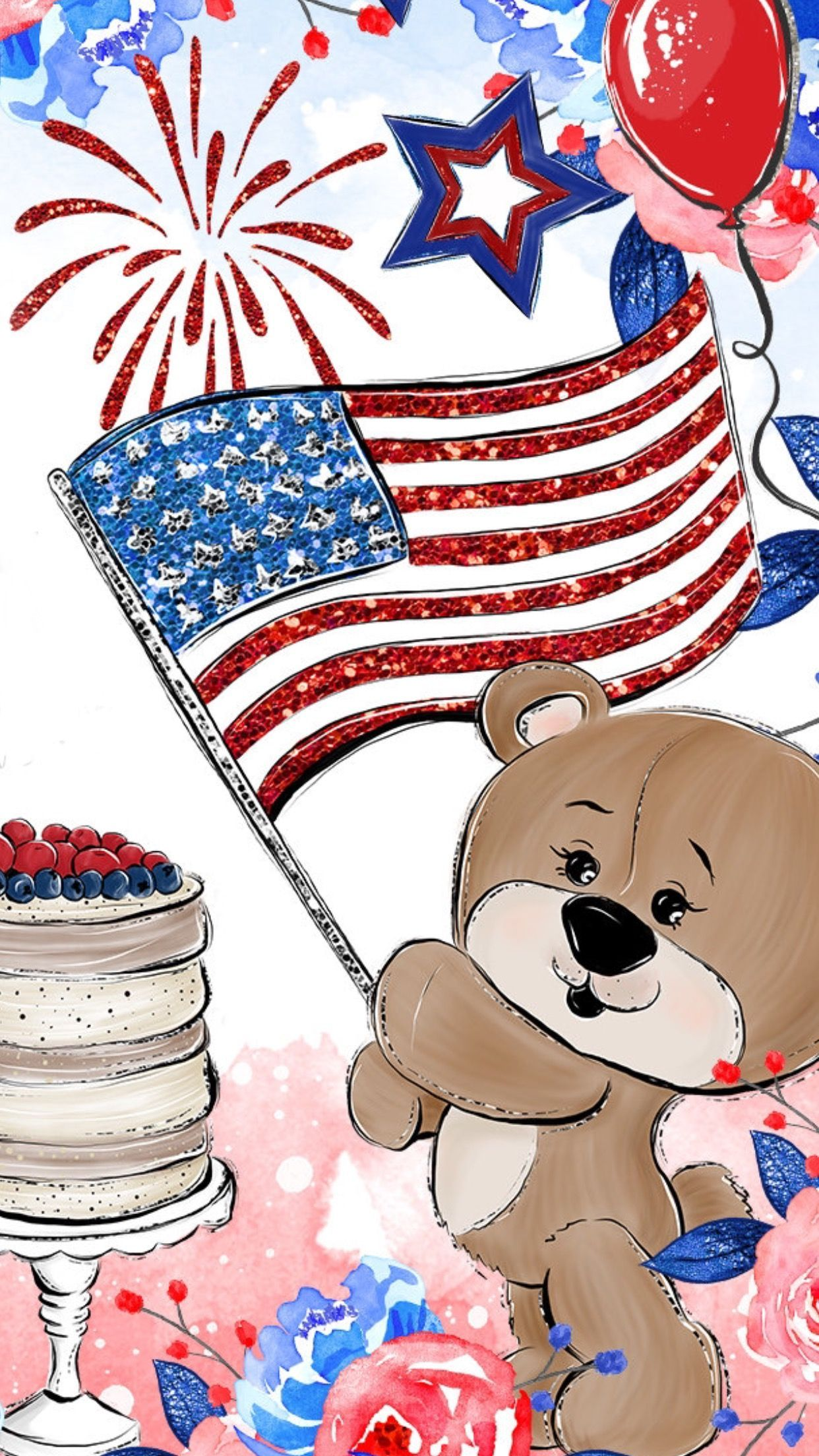 4th of July Cartoon Wallpapers on WallpaperDog