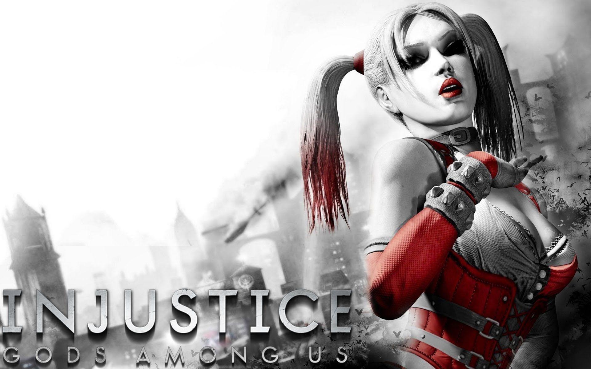 Harley Quinn Injustice Wallpapers On Wallpaperdog