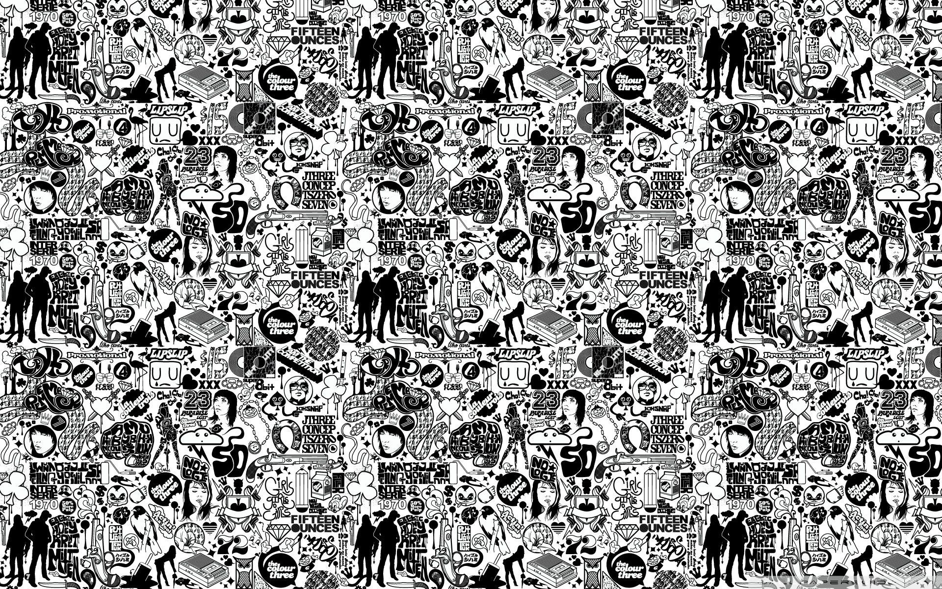 Wallpaper For Laptop Black And White