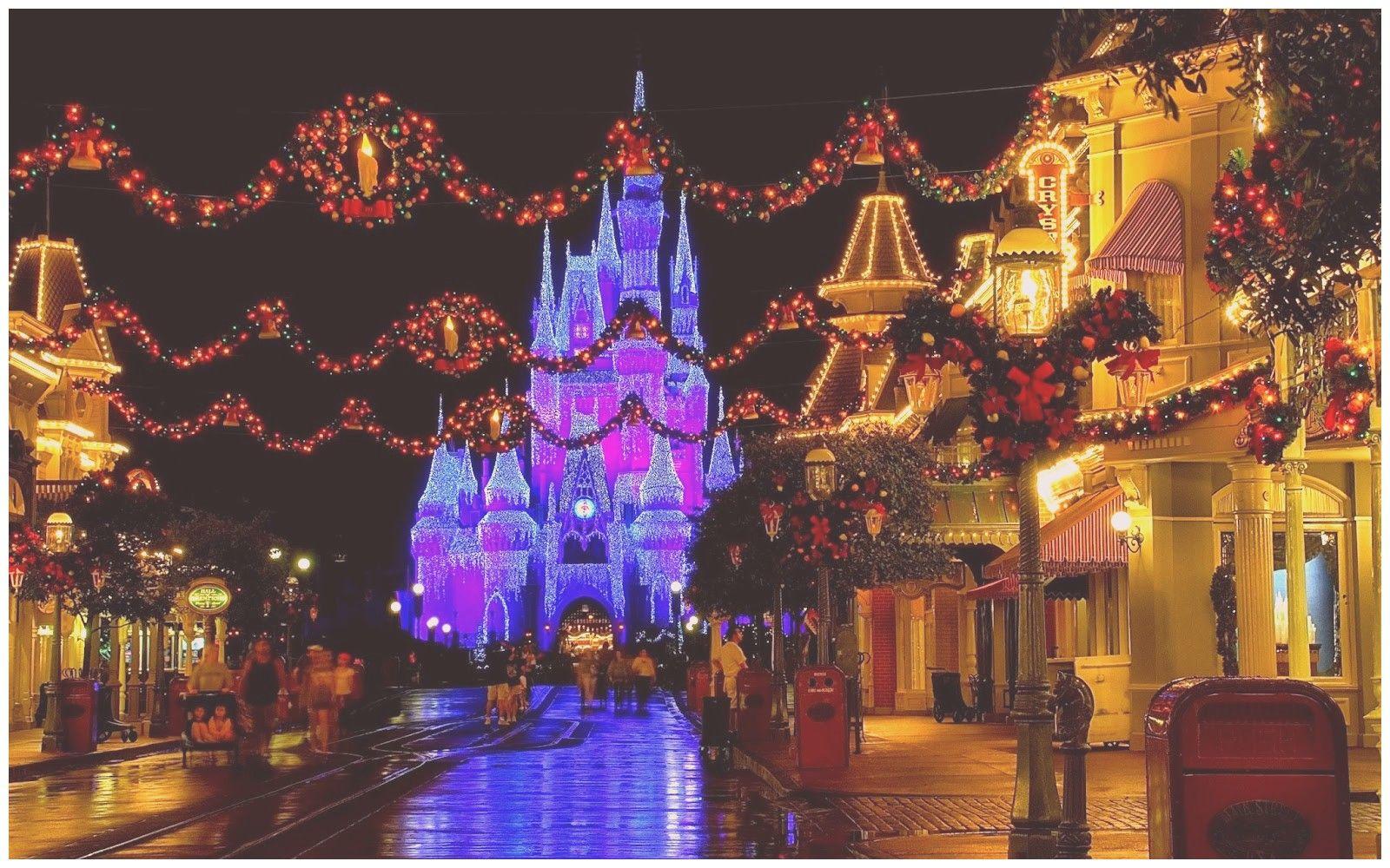 Disney Christmas Desktop Wallpapers On Wallpaperdog