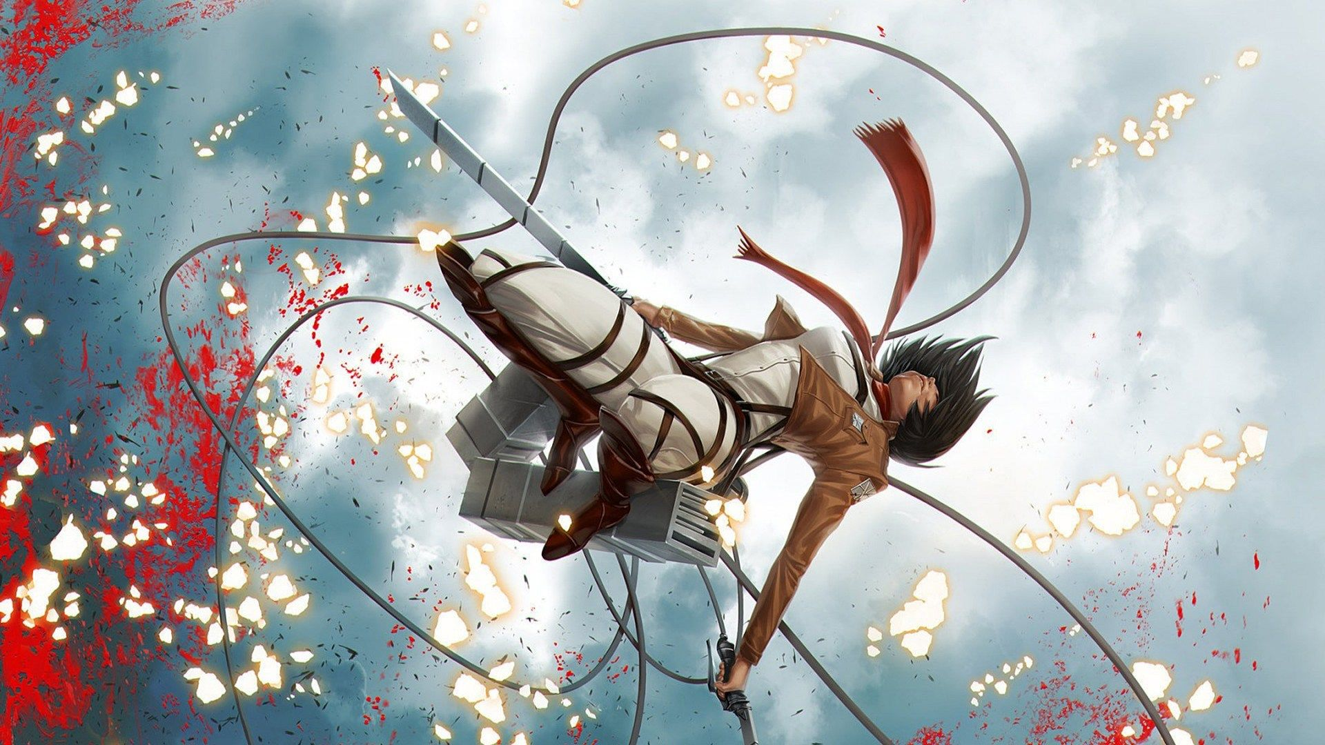 Attack On Titan Mikasa Wallpapers On Wallpaperdog
