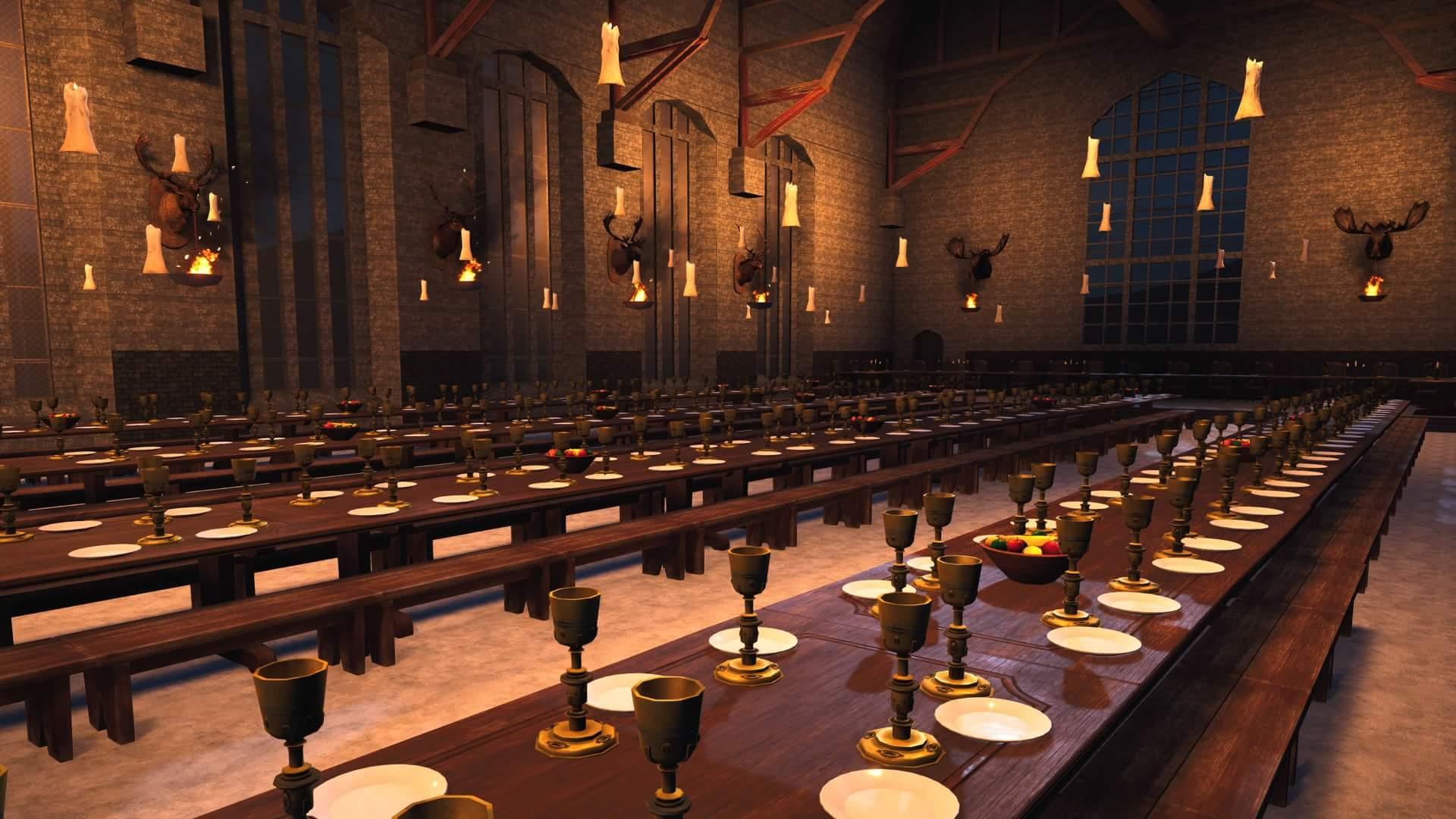 Hogwarts Great Hall Wallpapers On Wallpaperdog