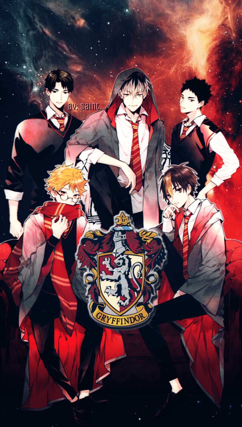 Harry Potter Manga Wallpapers On Wallpaperdog