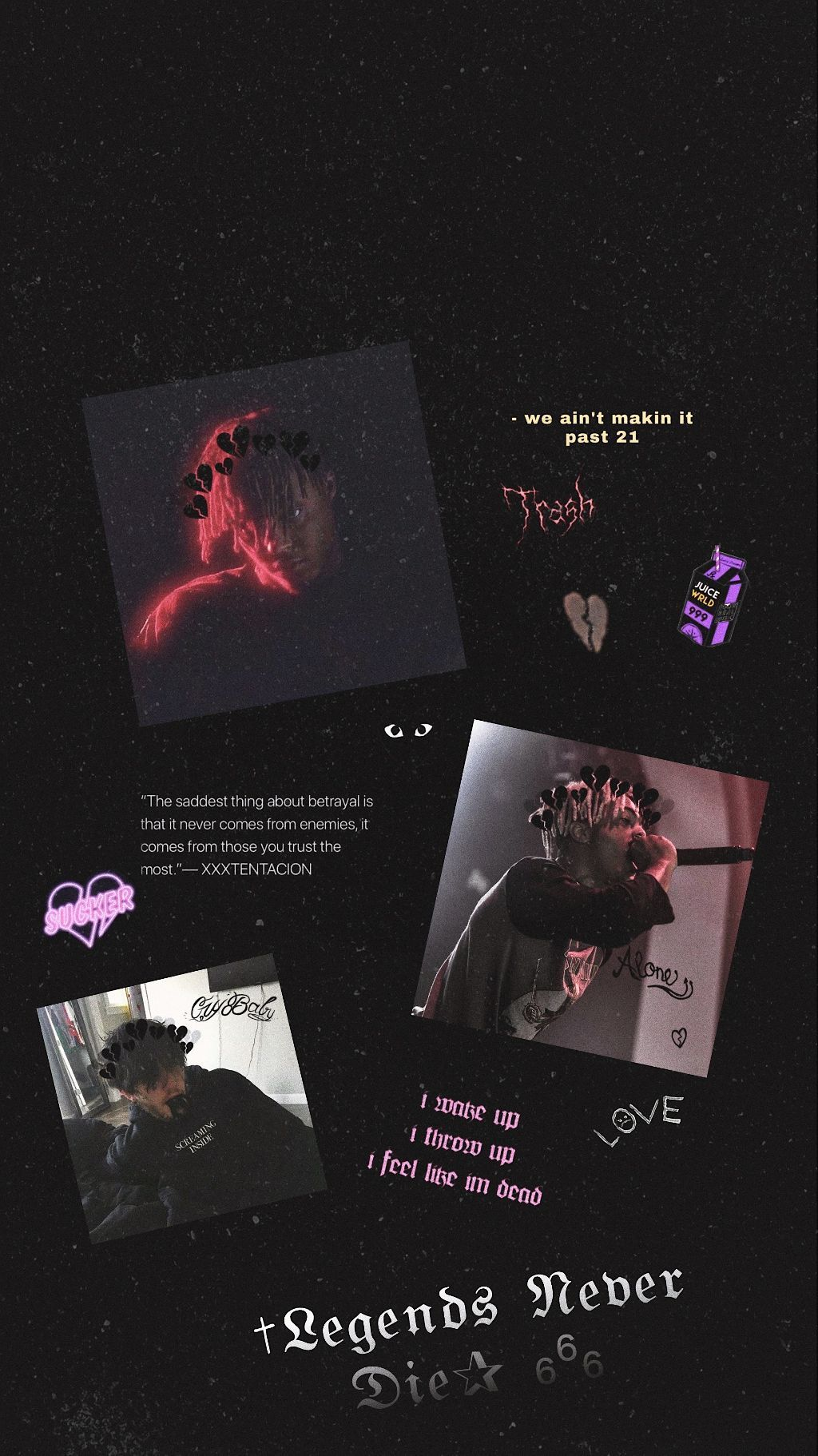 Juice Wrld Wallpapers On Wallpaperdog