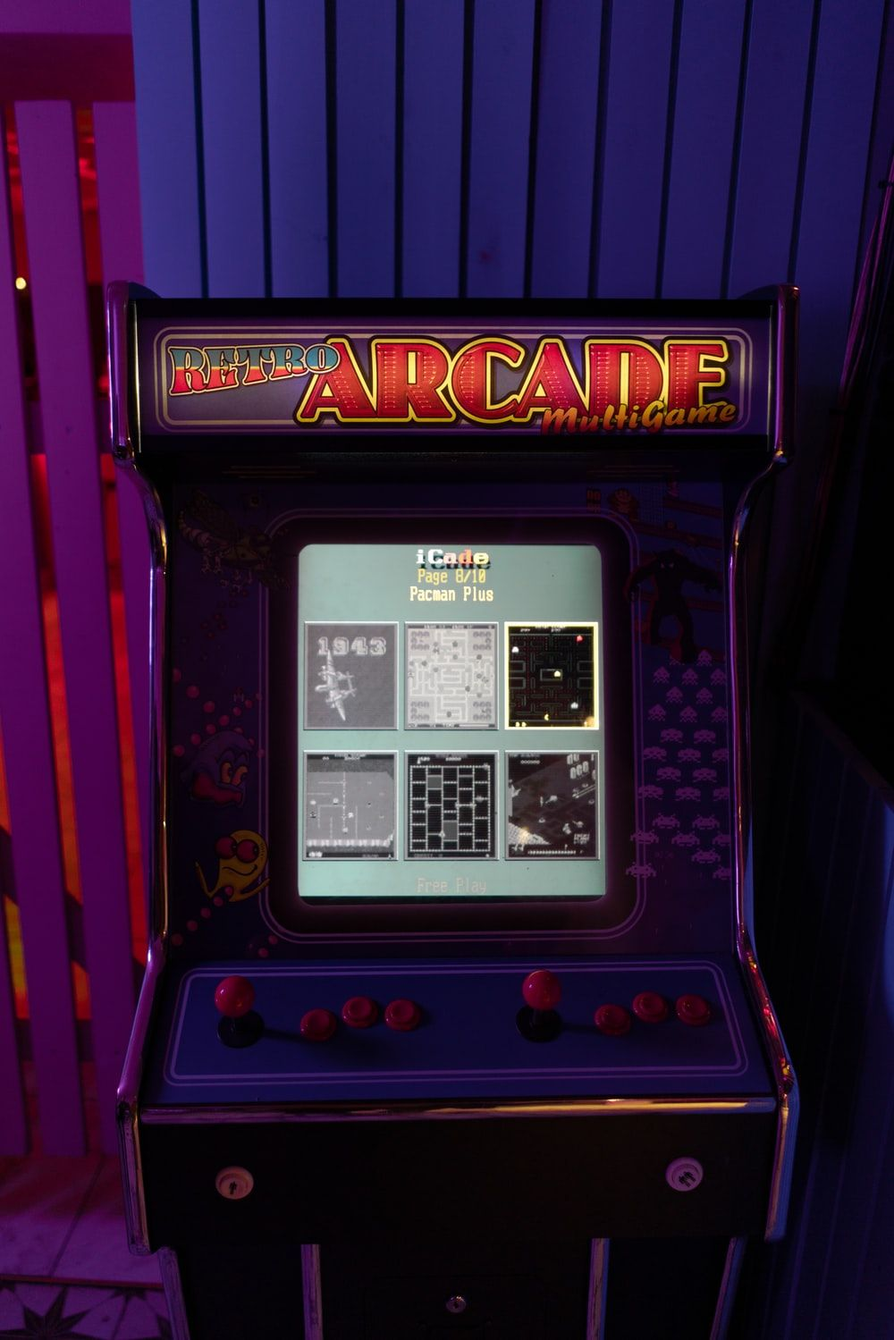 Vintage Arcade Game Wallpapers On Wallpaperdog