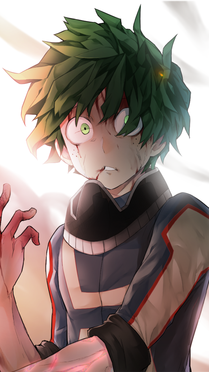 Izuku Midoriya Phone Wallpapers On Wallpaperdog
