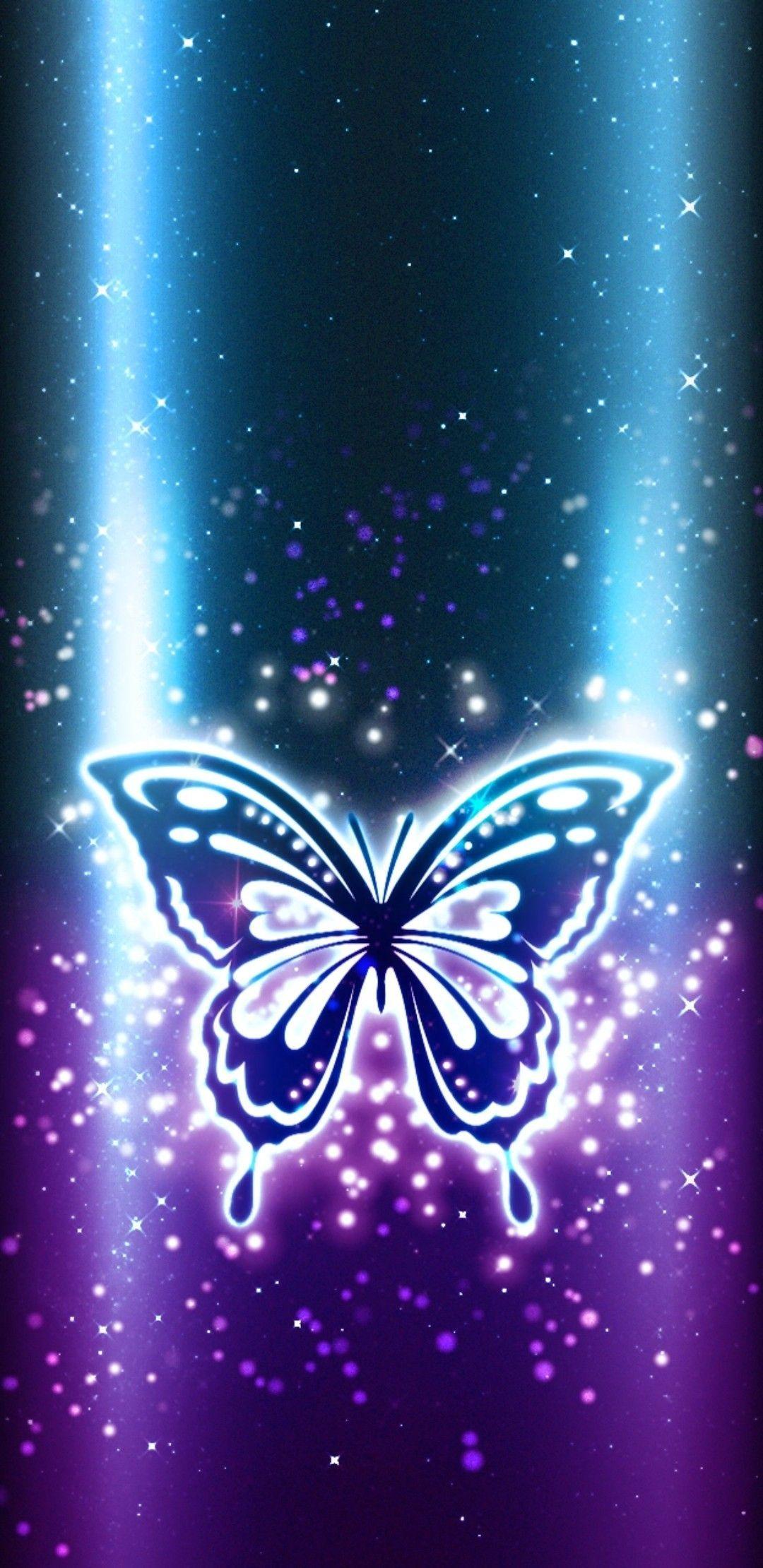 Purple Butterflies and Dragonflies Wallpapers on WallpaperDog
