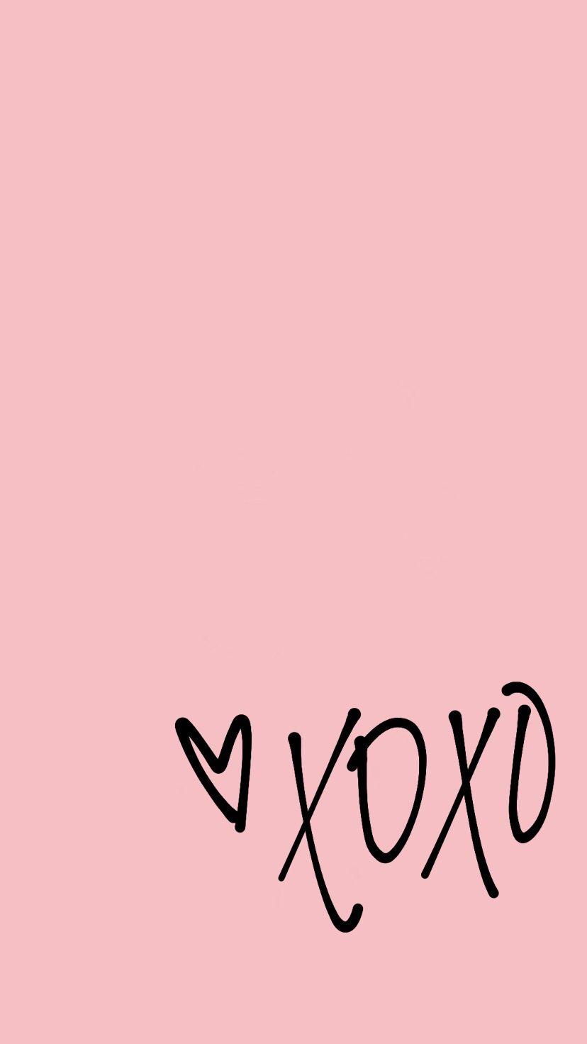 Xoxo Pink Wallpapers on WallpaperDog