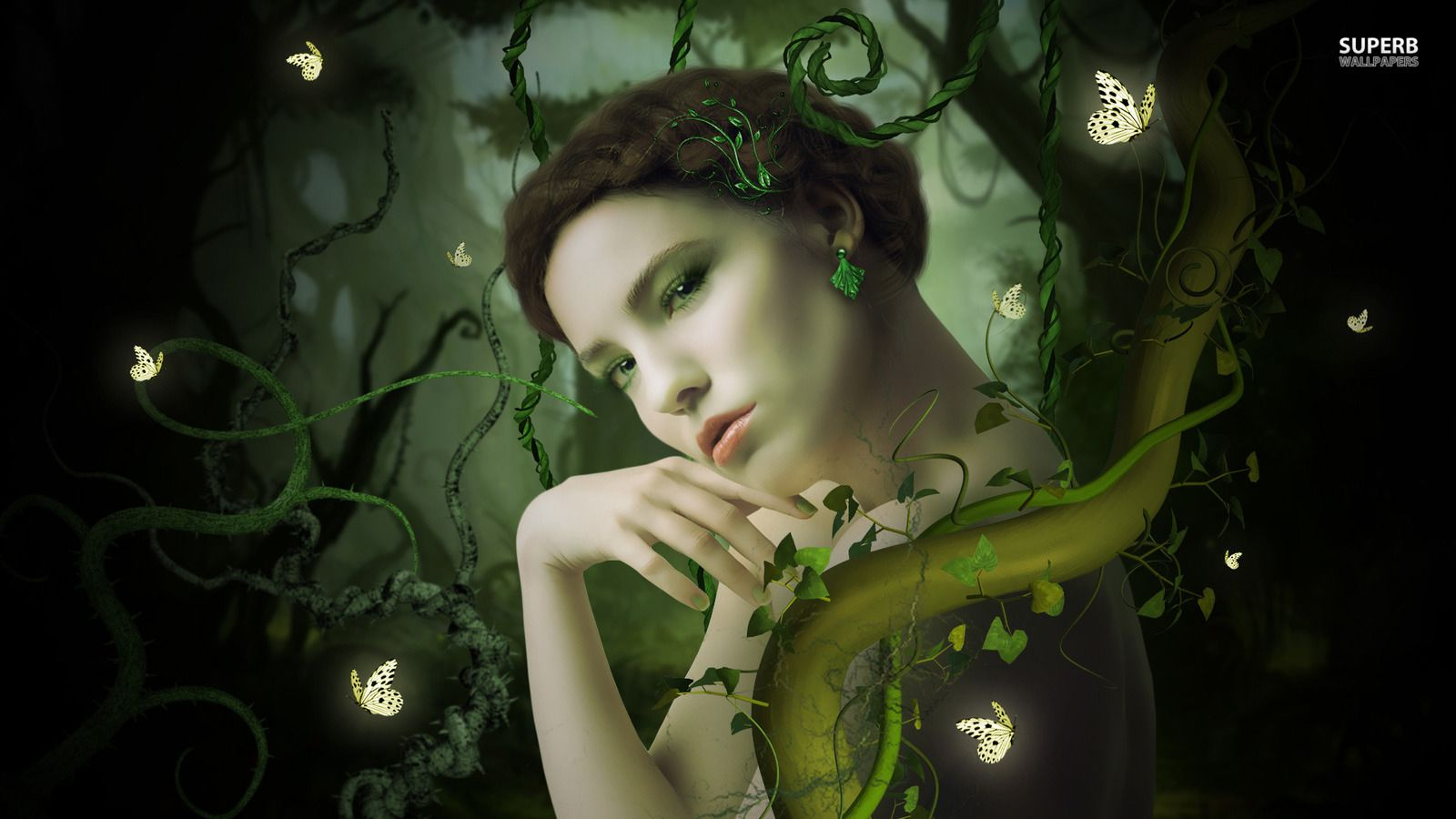 Fairy Nature Wallpapers On Wallpaperdog