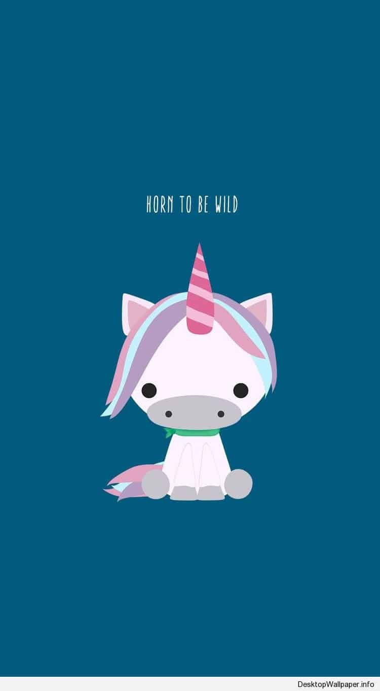 Cute Cartoon Unicorn Wallpapers On Wallpaperdog
