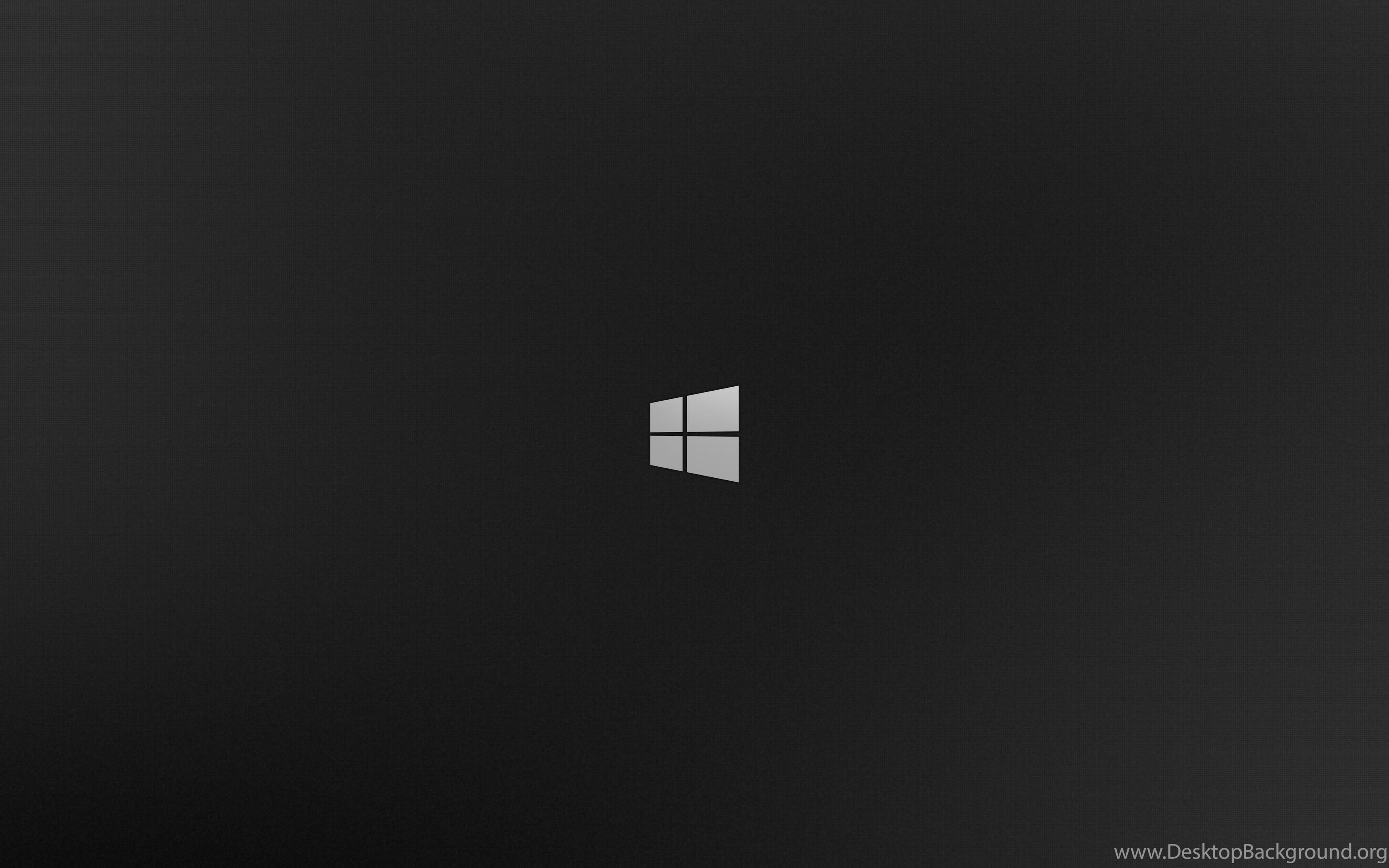 Desktop Background Is Black Windows 10