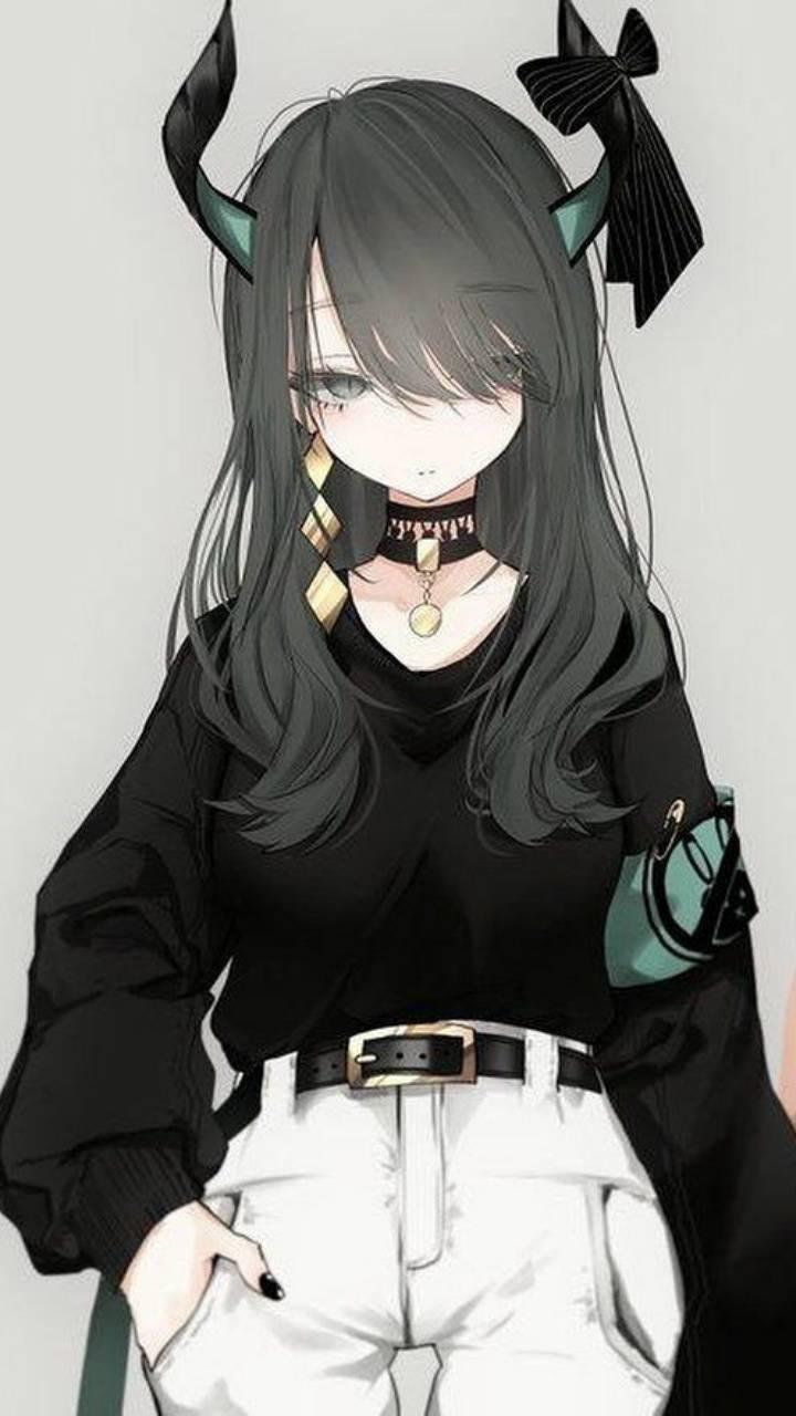 Kawaii Devil Anime Girl - Anime Wallpaper HD