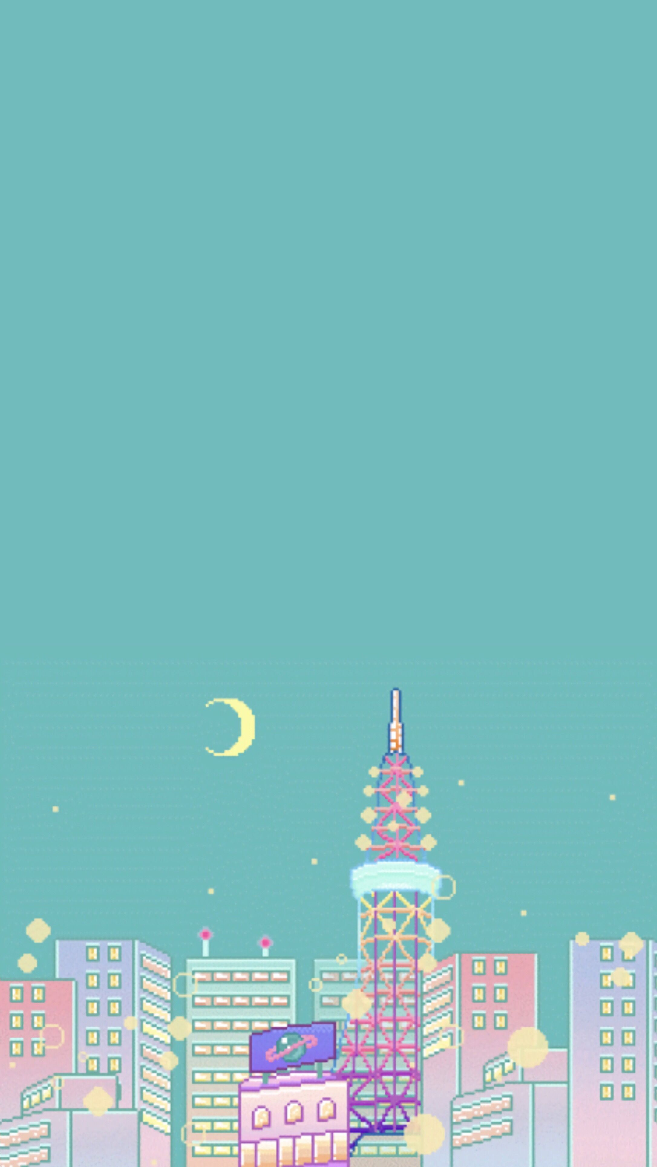 pastel aesthetic city iphone wallpapers on wallpaperdog