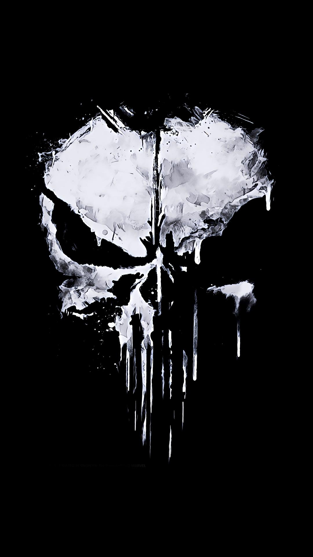 Punisher Skull iPhone Wallpapers on WallpaperDog