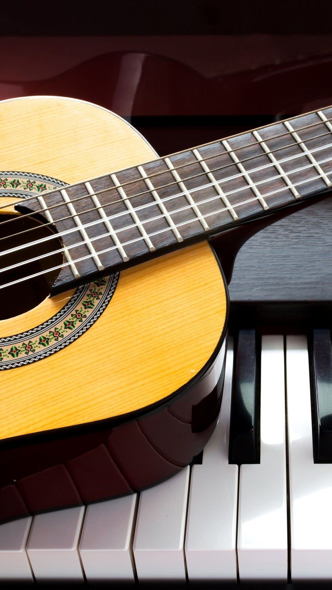 Piano and Guitar Wallpapers on WallpaperDog