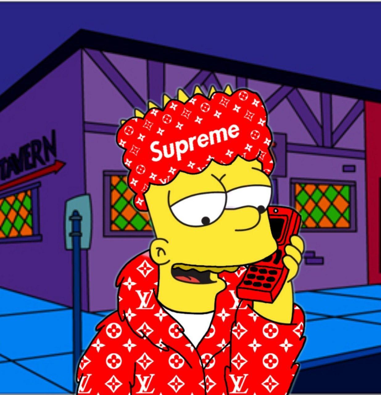 Lisa Simpsons Supreme Wallpapers on WallpaperDog
