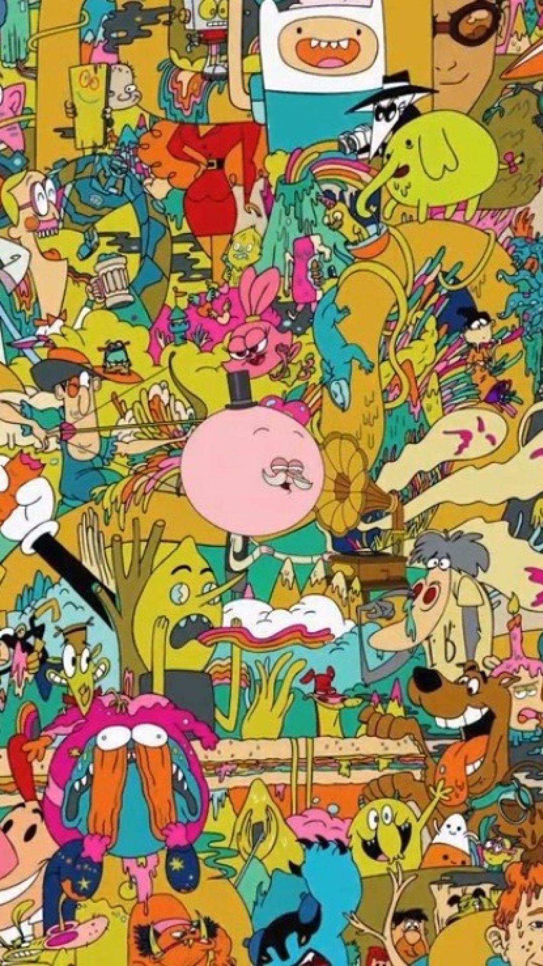 20'S Cartoon Wallpapers on WallpaperDog