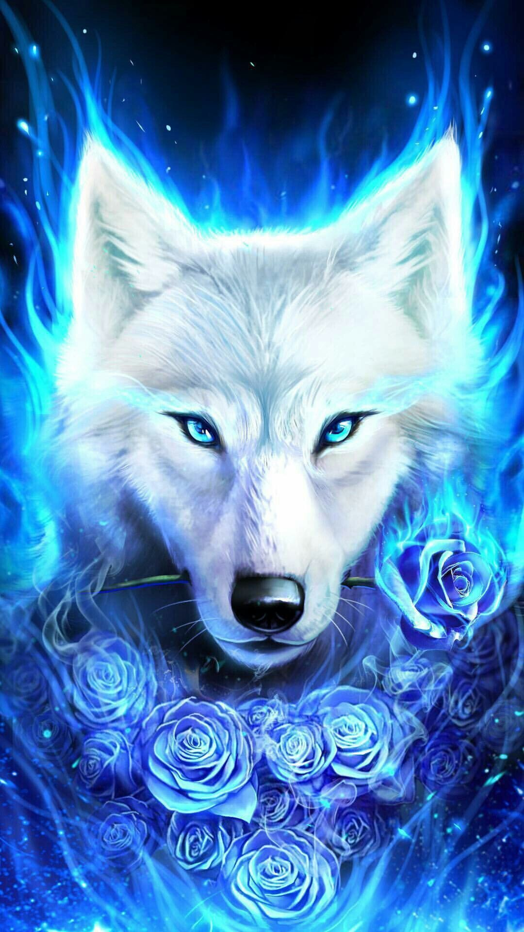 Fury Anime Galaxy Wolf Wallpapers On Wallpaperdog