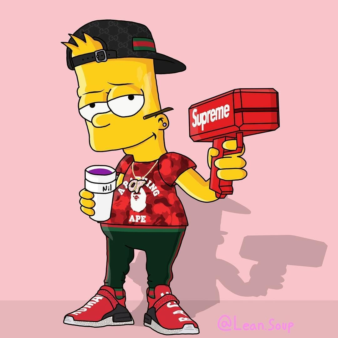 Dope Bart Simpson Wallpapers On Wallpaperdog