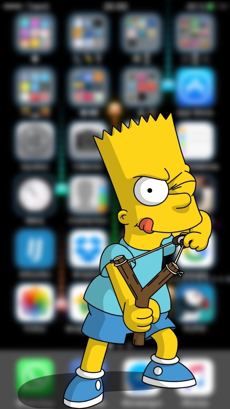 Simpsons Bart Iphone 6 Wallpapers On Wallpaperdog