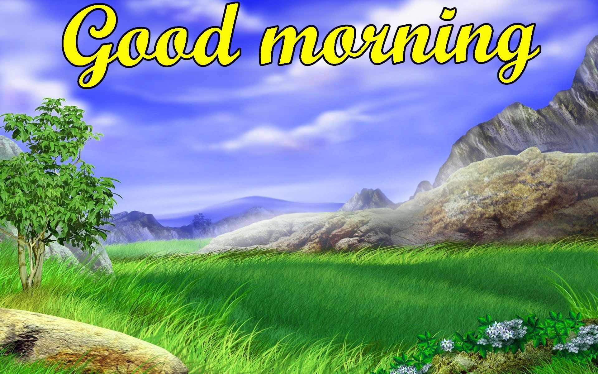 Good Morning Beautiful Scenery Wallpapers On Wallpaperdog