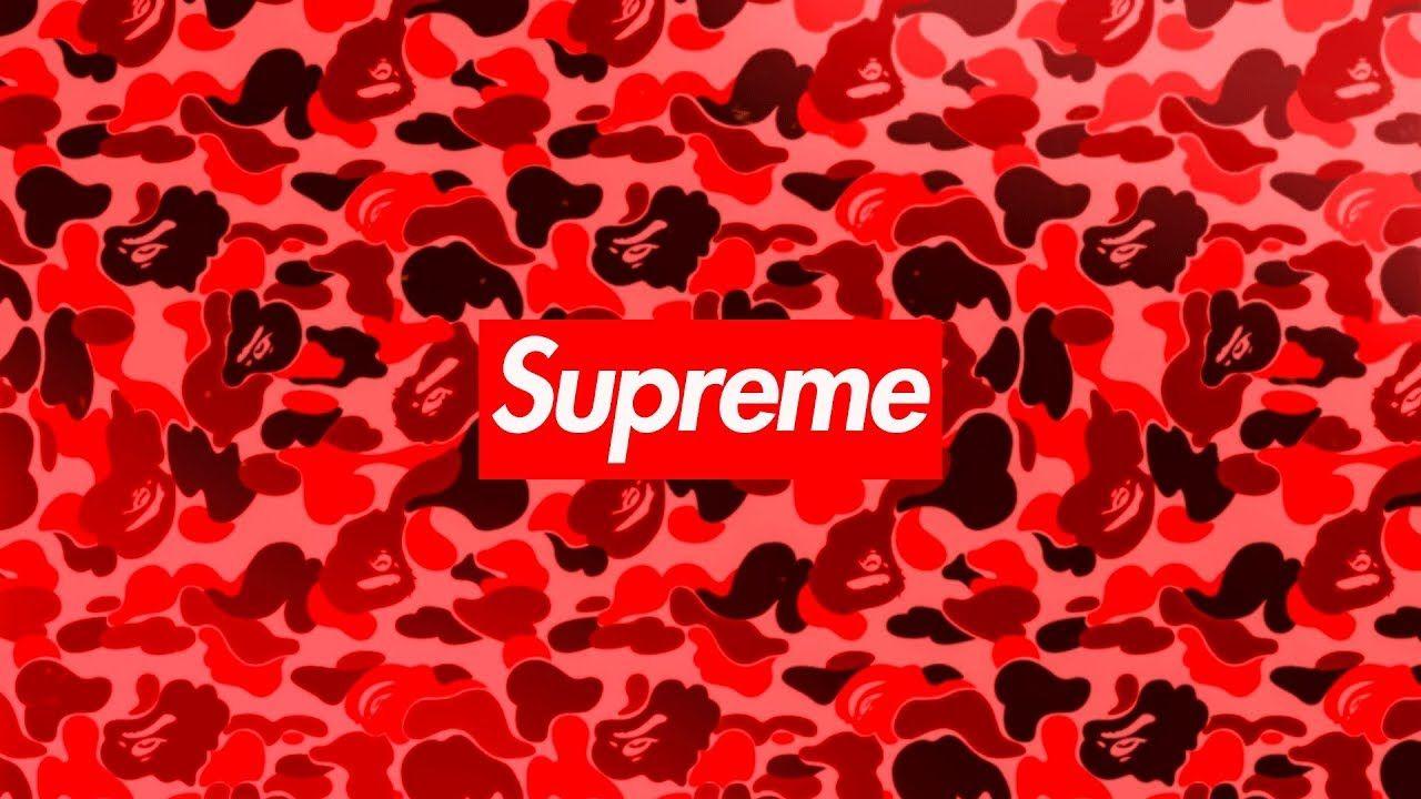Supreme X Bape Iphone Wallpapers On Wallpaperdog