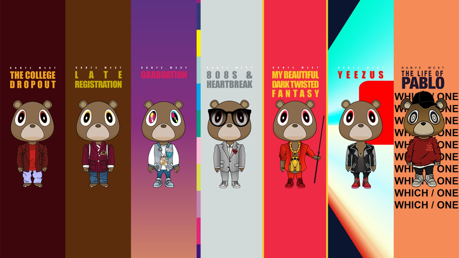 Kanye West Graduation Iphone Wallpapers On Wallpaperdog