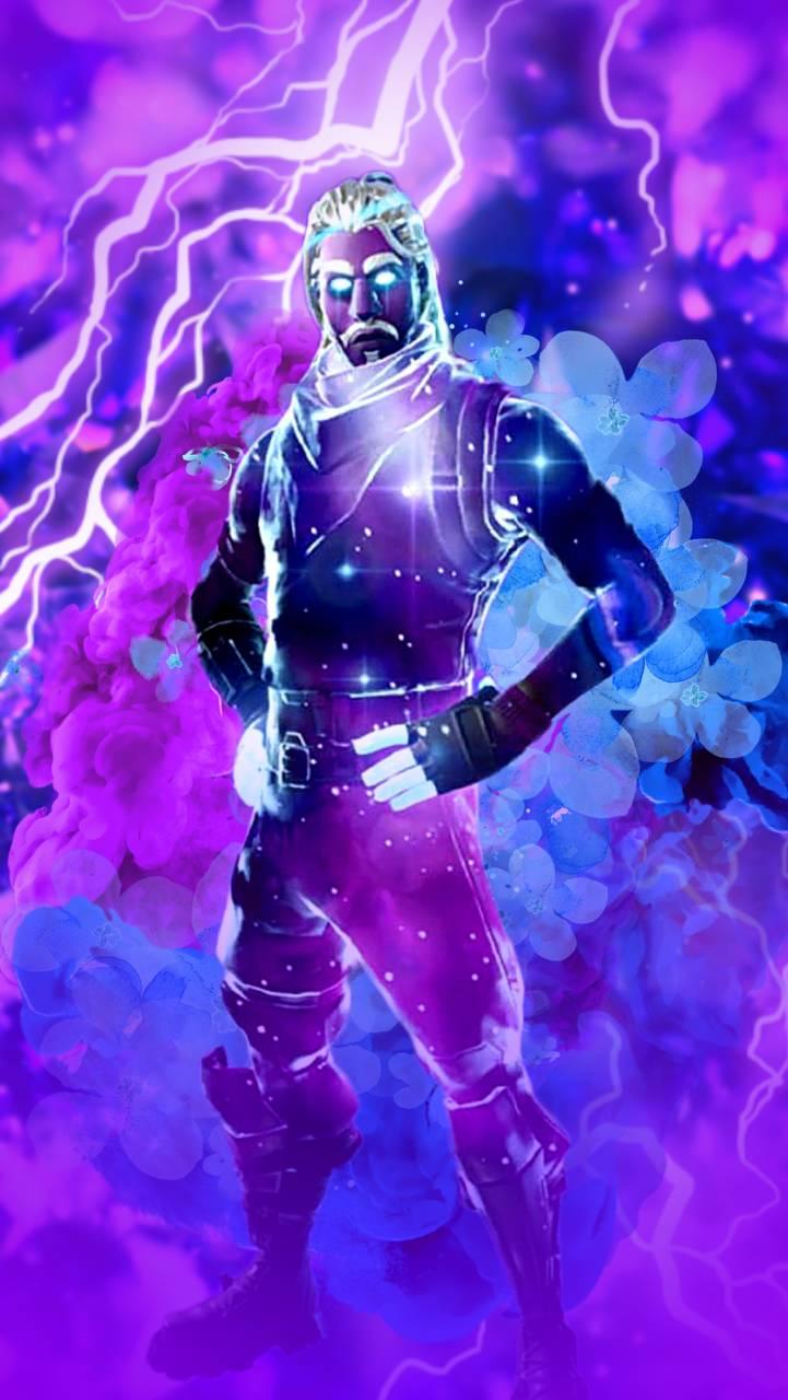 Galaxy Skin Fortnite Wallpaper