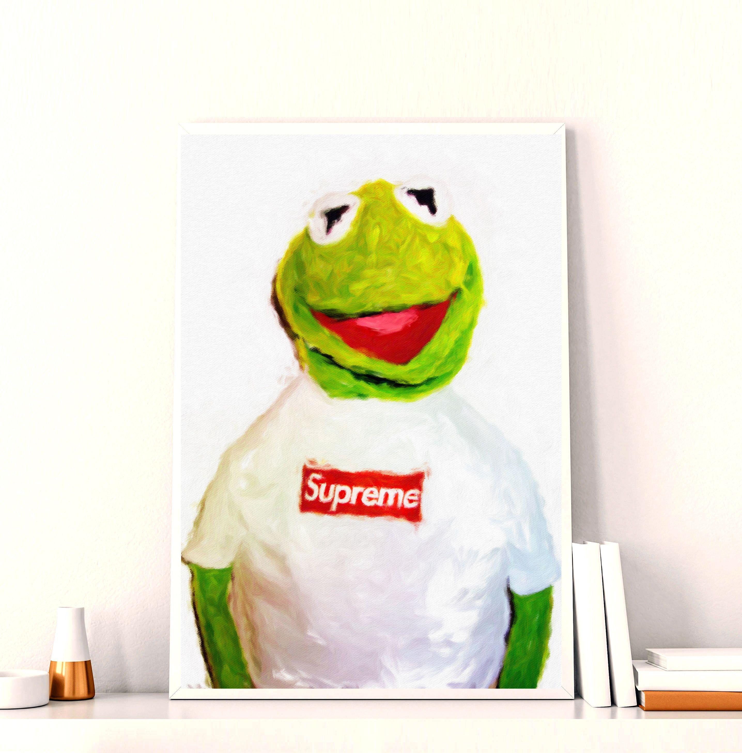 Supreme Kermit Wallpapers On Wallpaperdog