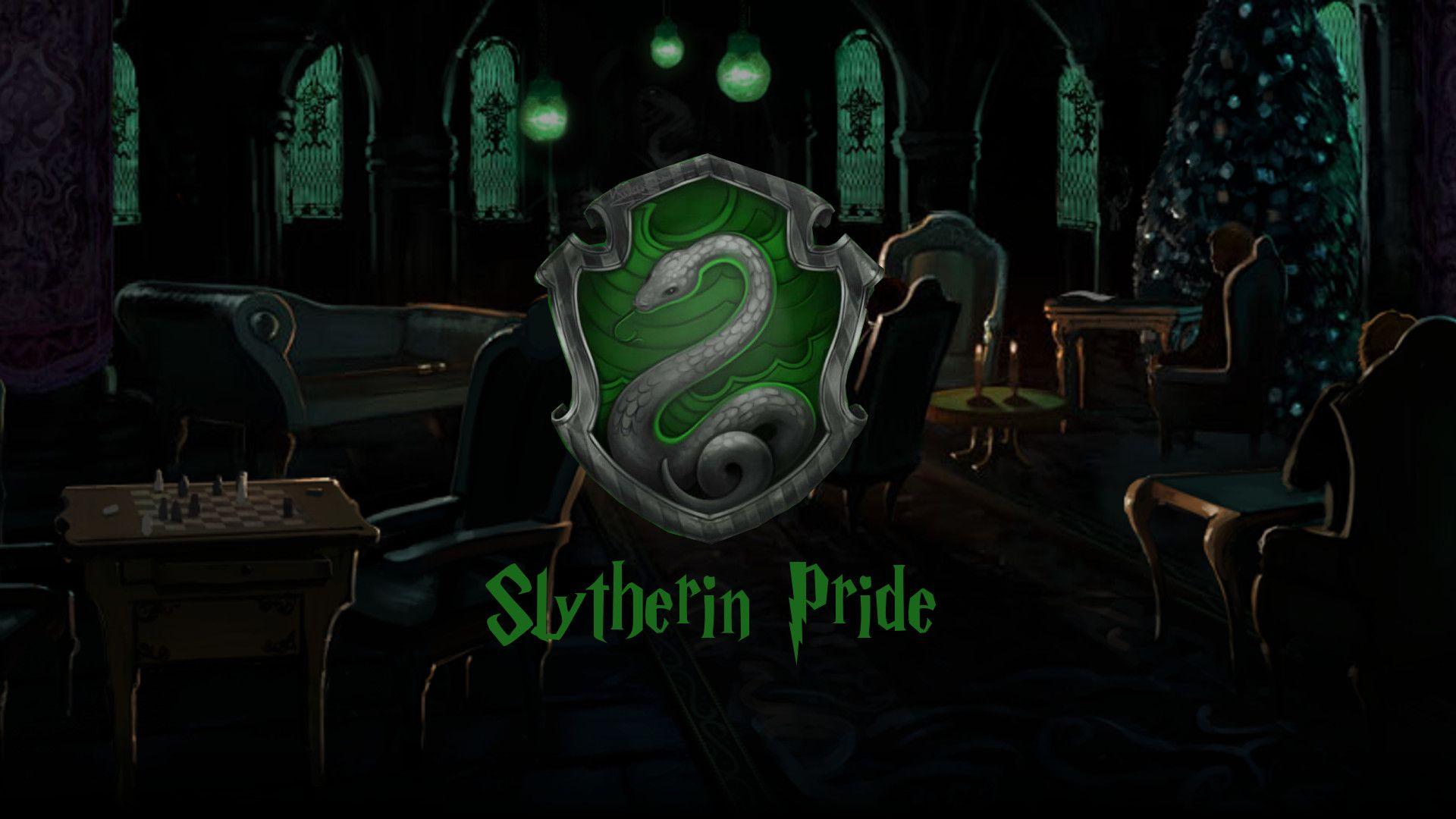 Slytherin House Wallpapers On Wallpaperdog