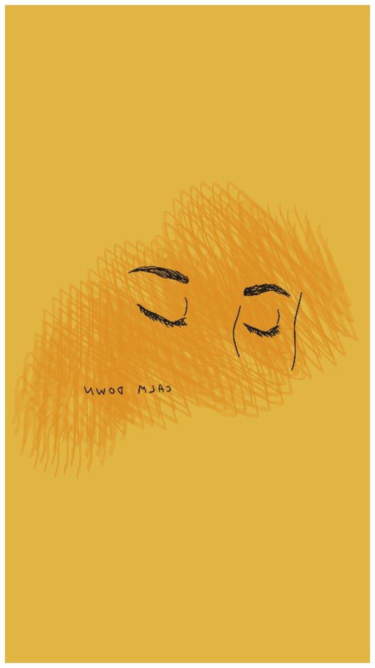 Yellow Aesthetic Quotes Desktop Wallpapers On Wallpaperdog