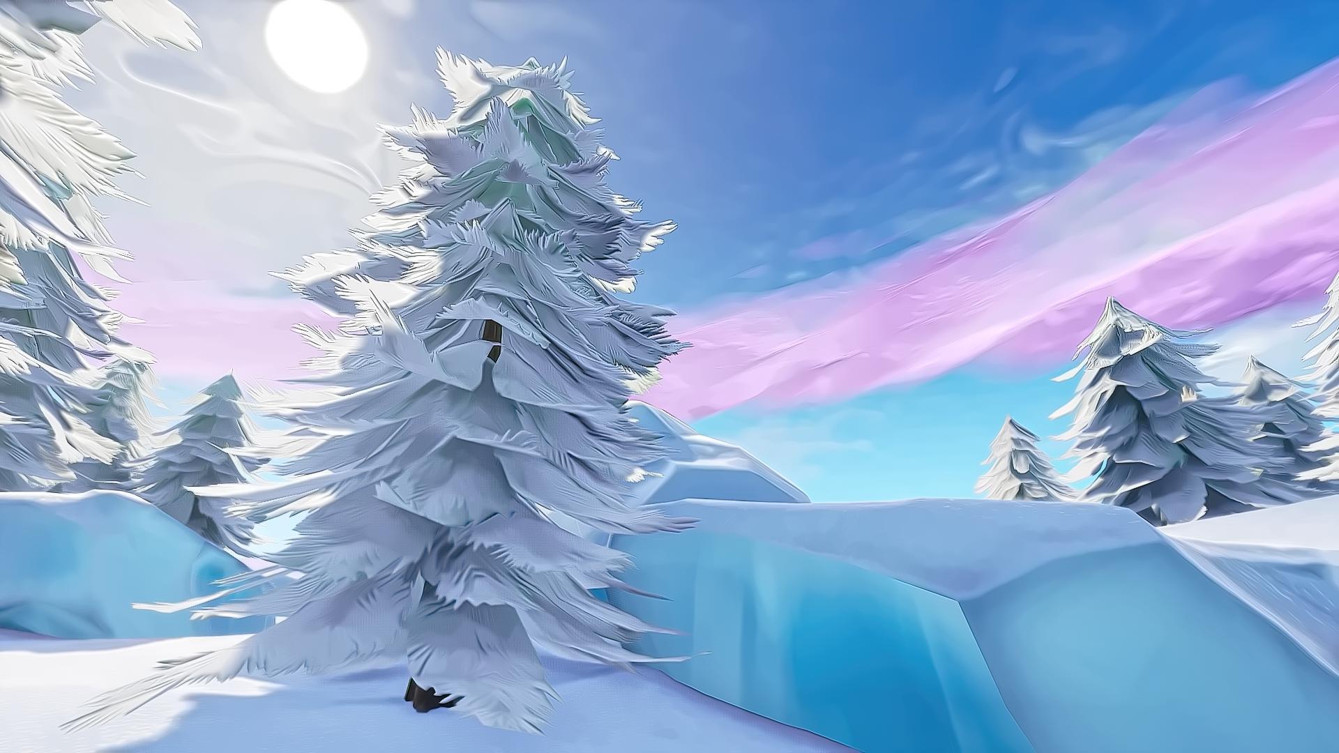 Fortnite Christmas Desktop Wallpapers On Wallpaperdog