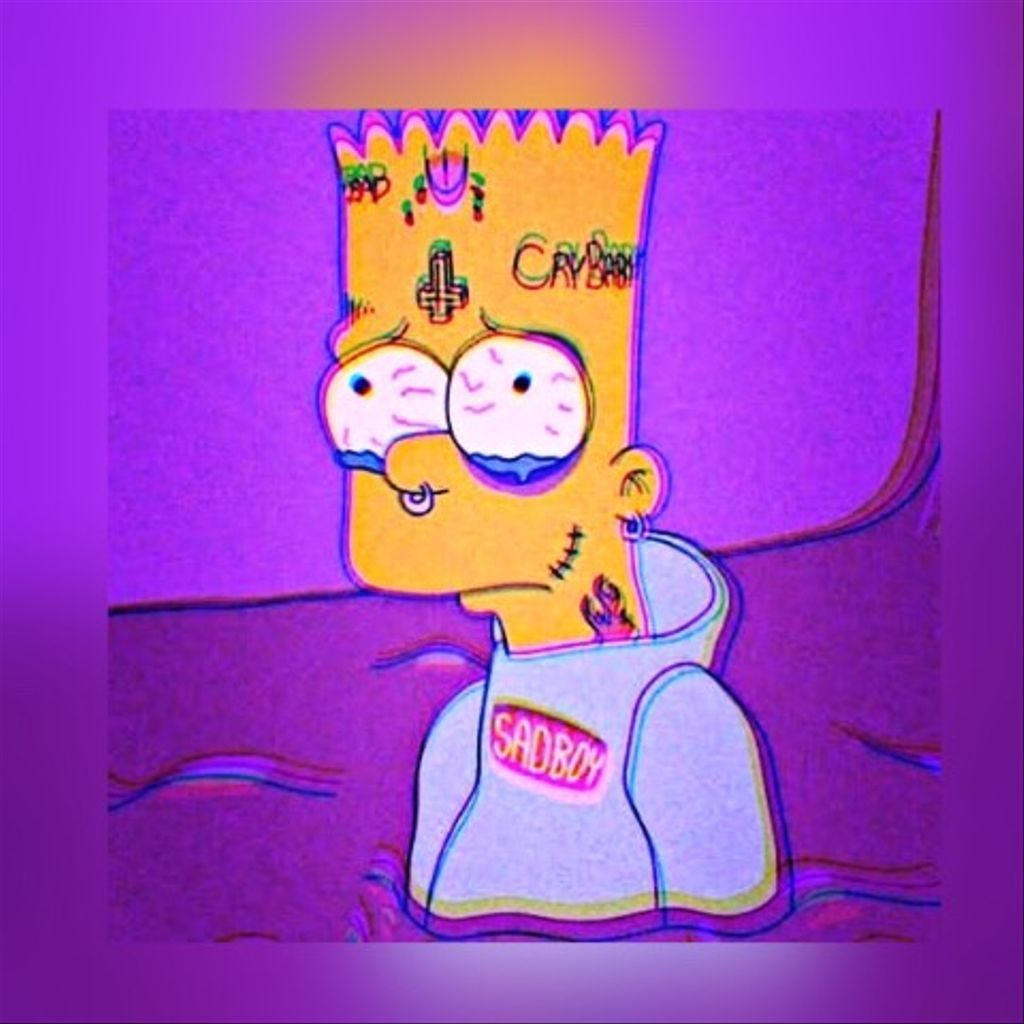 Bart Simpson As Xxxtentacion Wallpapers On Wallpaperdog