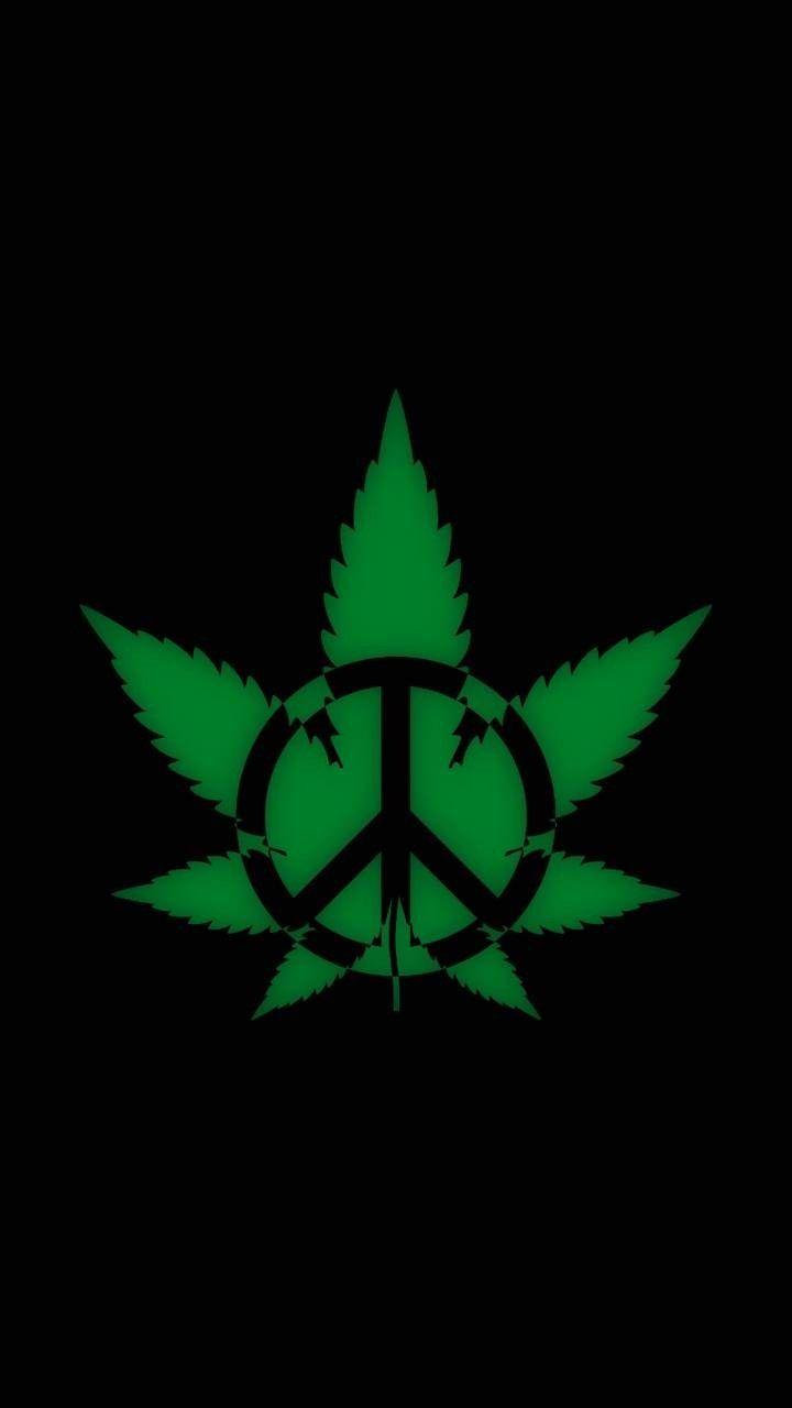Weed Symbol Wallpapers On Wallpaperdog