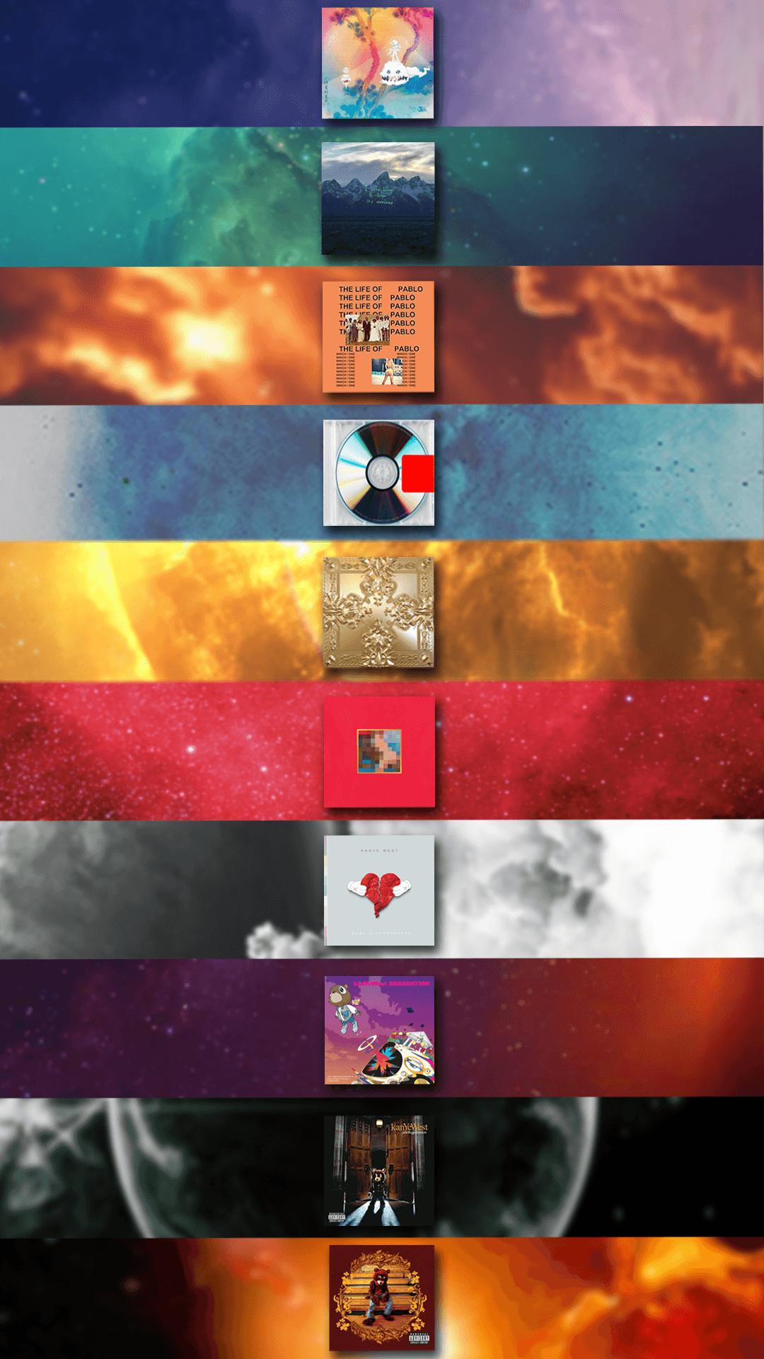 Kanye Albums Wallpapers On Wallpaperdog