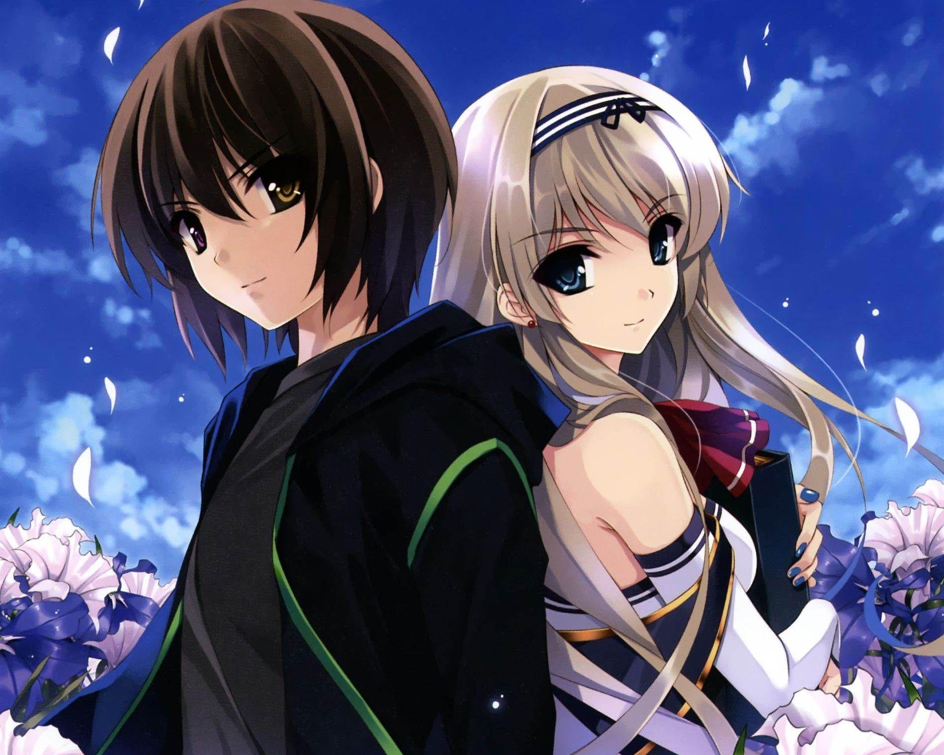 Anime Couple Hd Wallpapers On Wallpaperdog