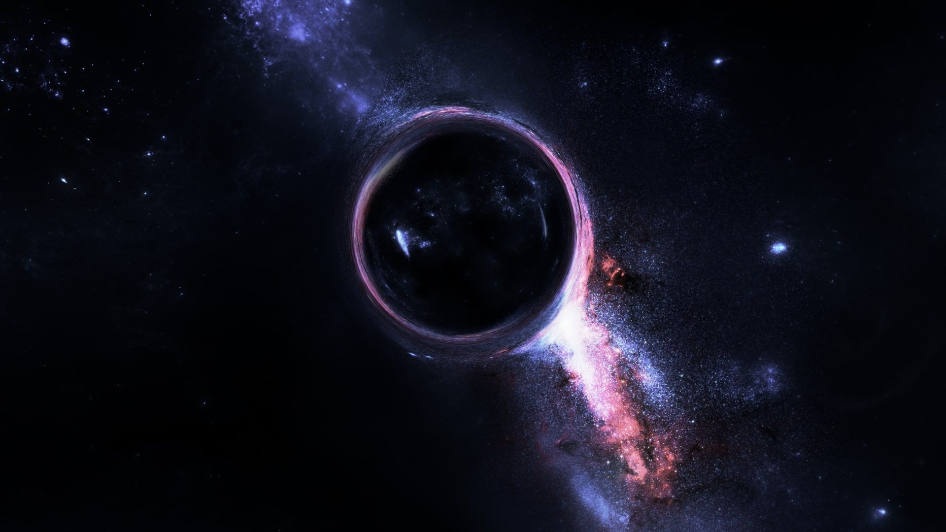 Black Hole Wallpapers On Wallpaperdog