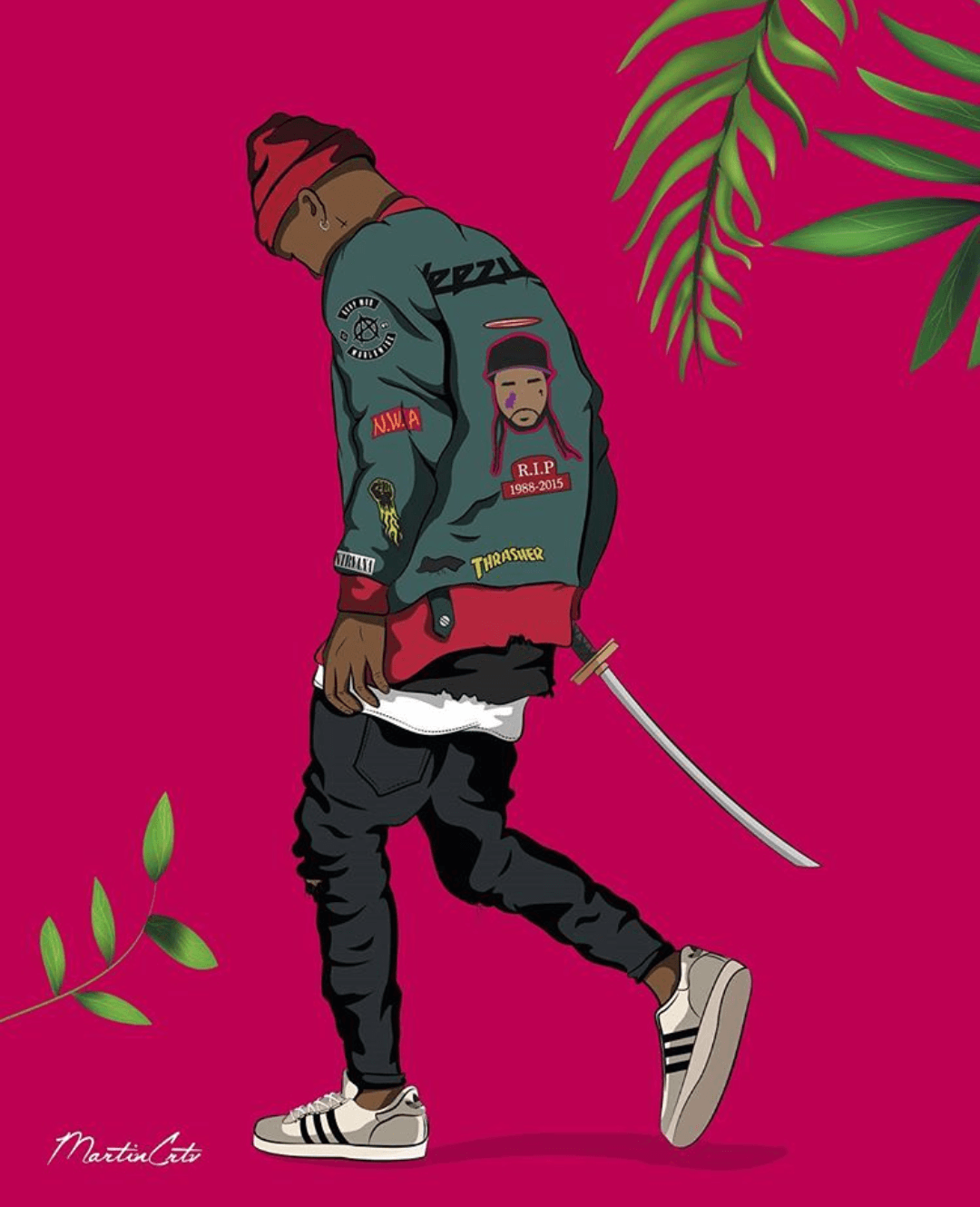 Dope Swag Cartoon Wallpapers On Wallpaperdog