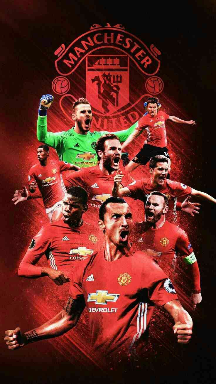 Manchester United Team Wallpapers On WallpaperDog