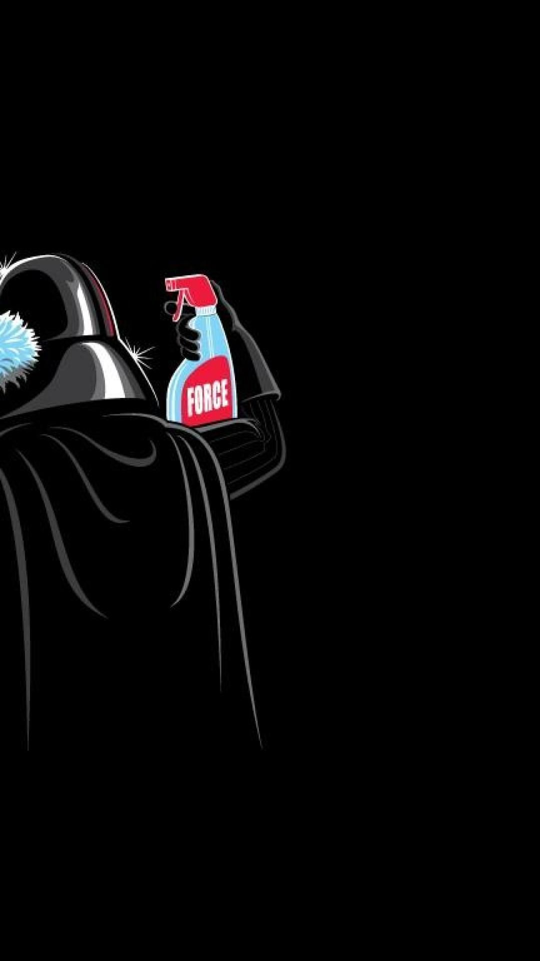 Funny Star Wars Iphone Wallpapers On Wallpaperdog
