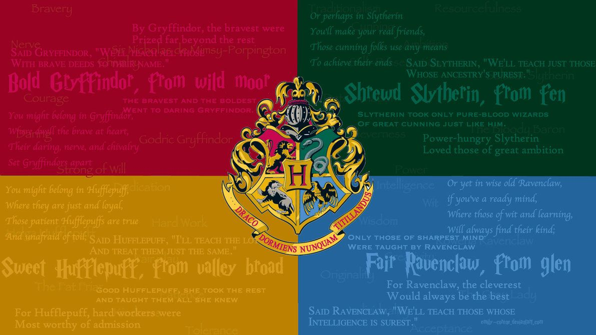 Gryffindor And Slytherin Laptop Wallpapers On Wallpaperdog