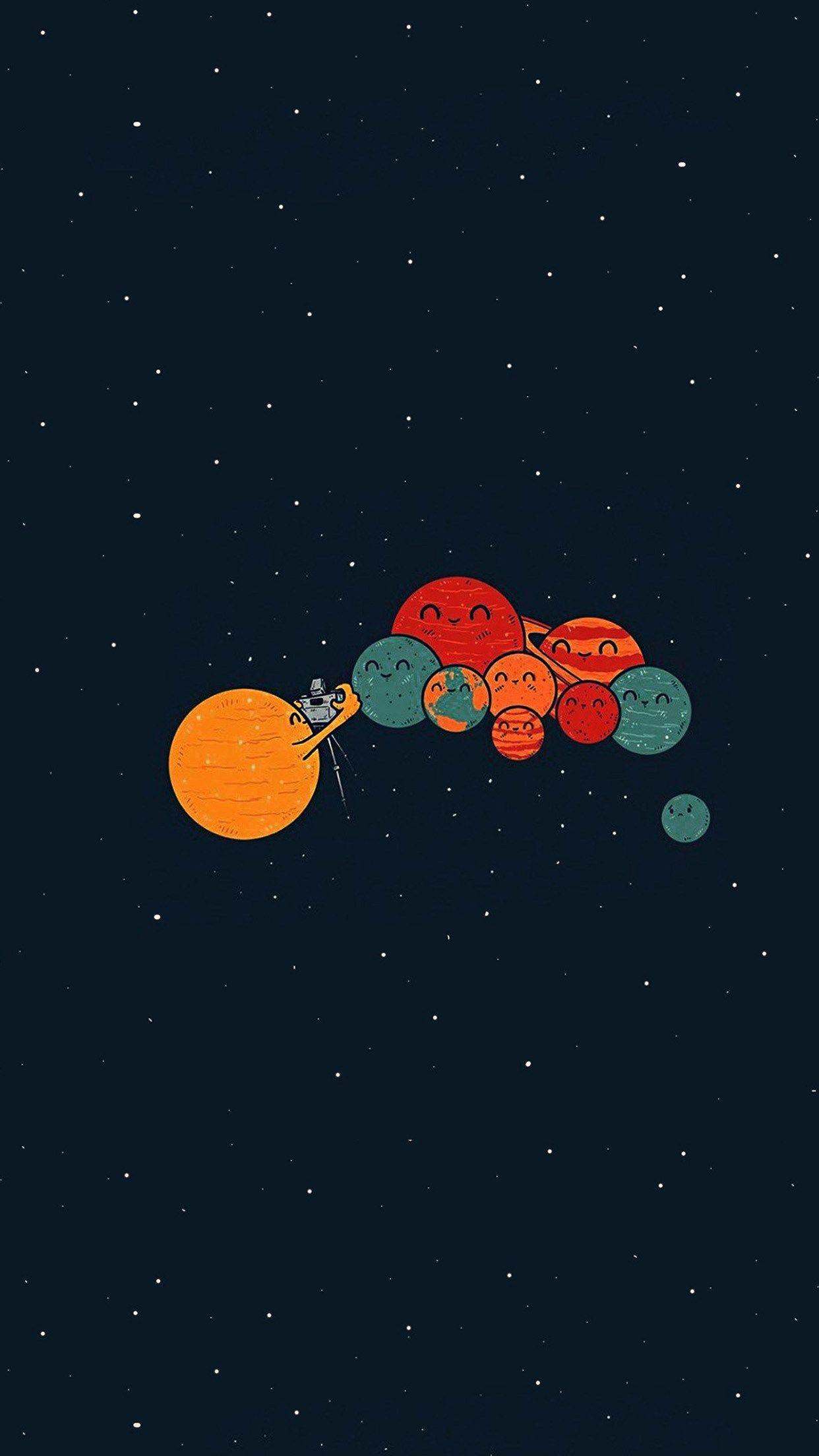 Space Aesthetic Desktop Wallpaper Hd