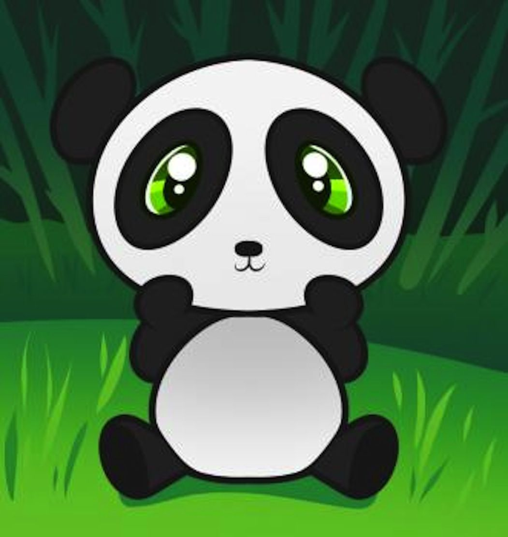 Cute Cartoon Panda Wallpapers On Wallpaperdog