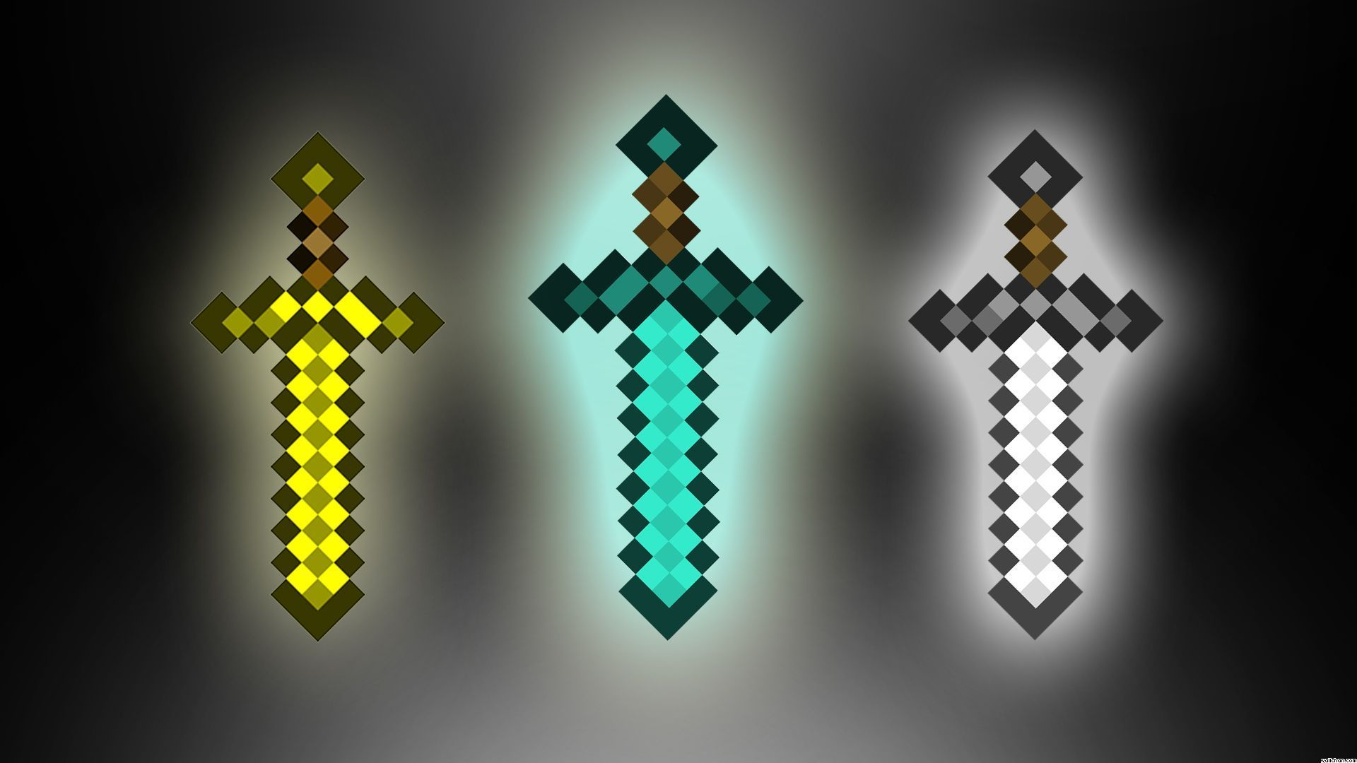 Minecraft Diamond Armor Wallpapers On Wallpaperdog