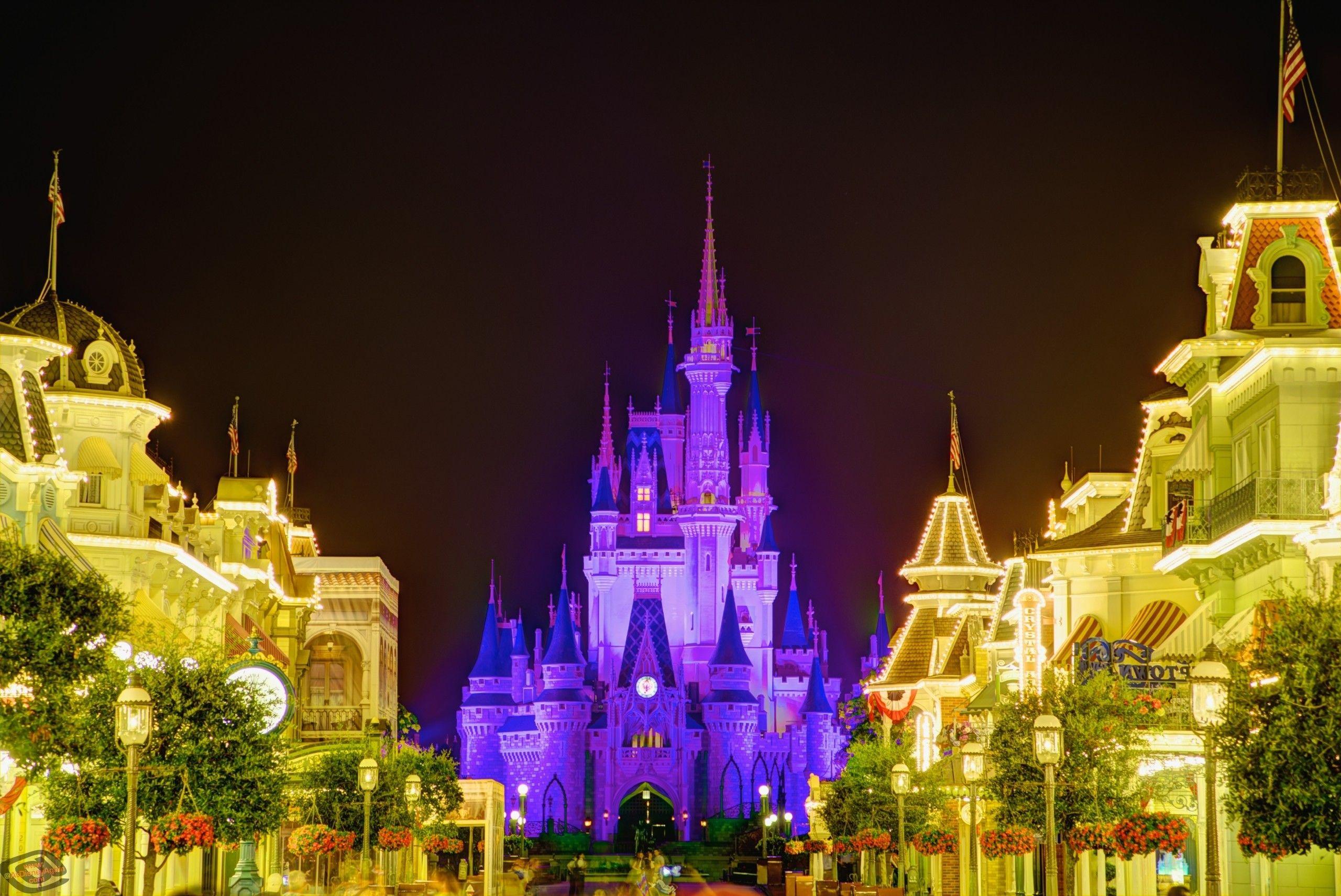Disney World Castle Wallpapers On Wallpaperdog