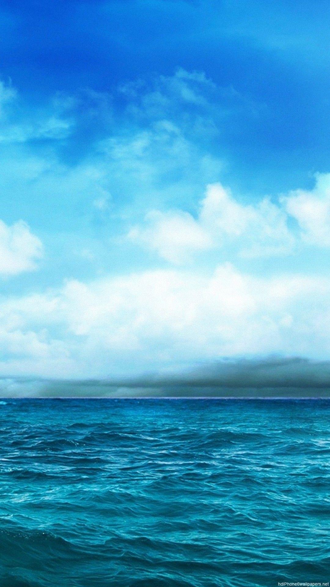 Ocean Light Blue Aesthetic Wallpapers On Wallpaperdog